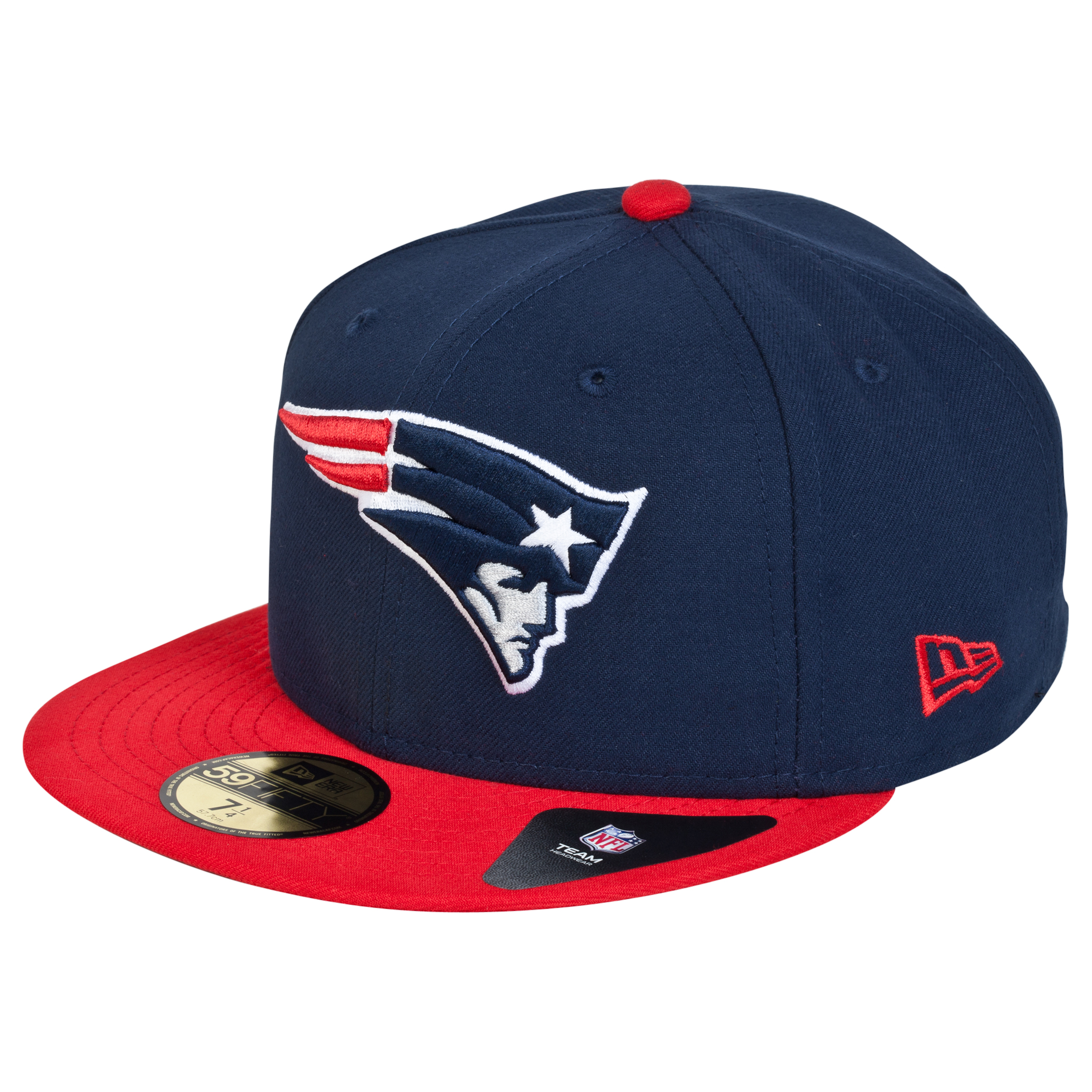 New England Patriots New Era 59FIFTY SB Side Patch Super Bowl XXXIX Fitted Cap