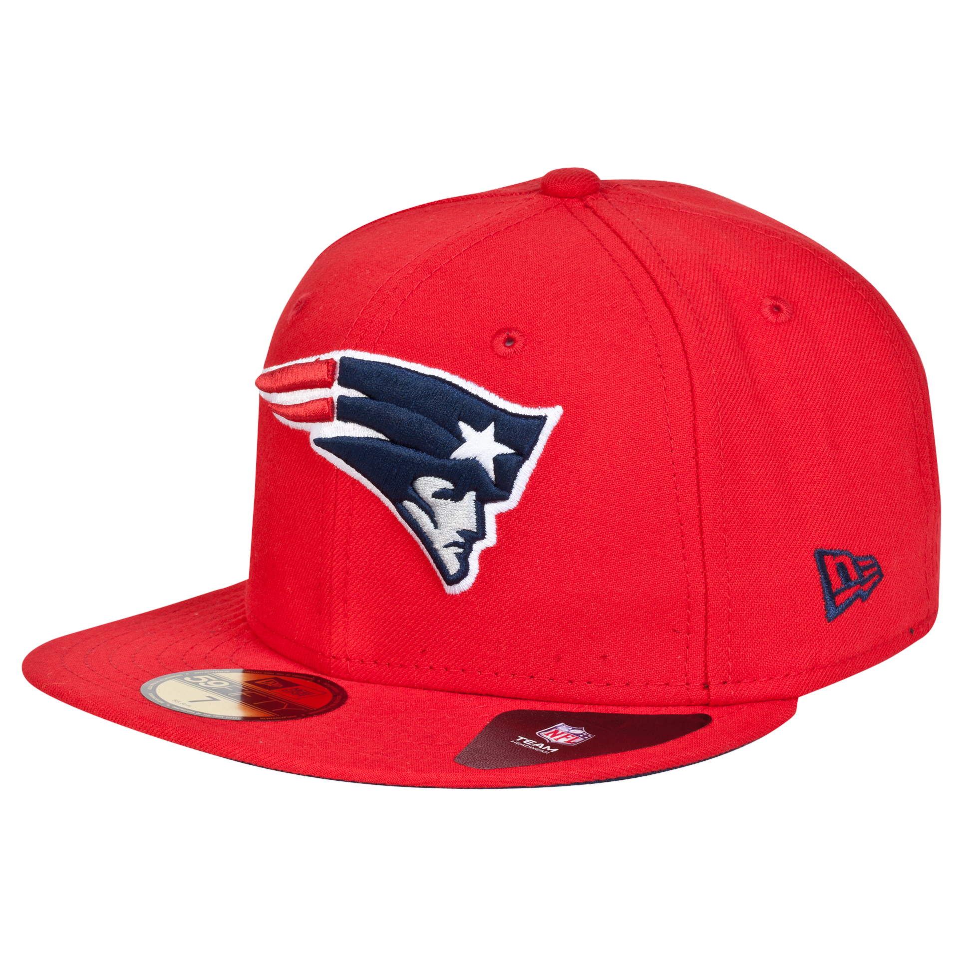 New England Patriots New Era 59FIFTY SB Side Patch Super Bowl XXXVIII Fitted Cap