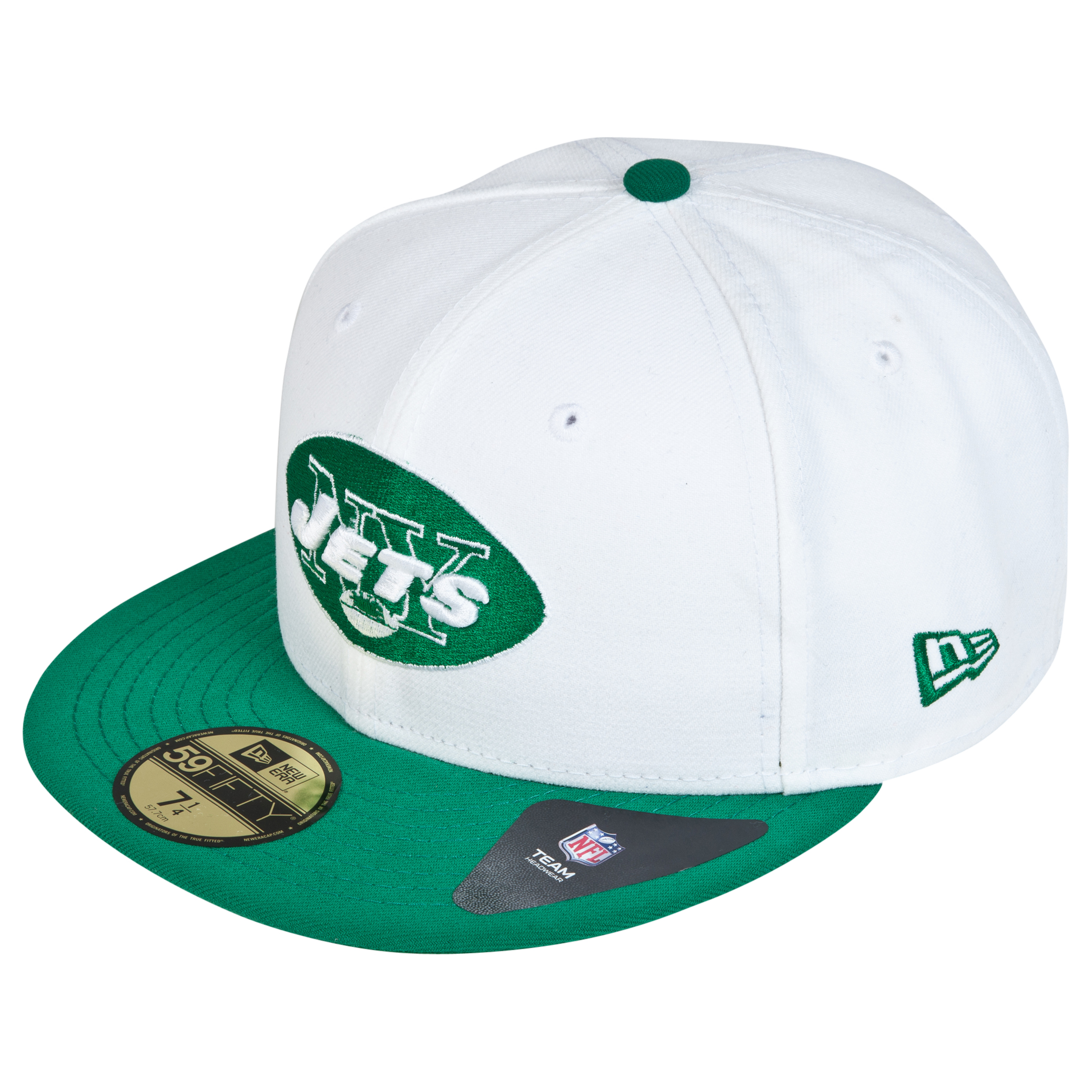 New York Jets New Era 59FIFTY SB Side Patch Super Bowl III Fitted Cap