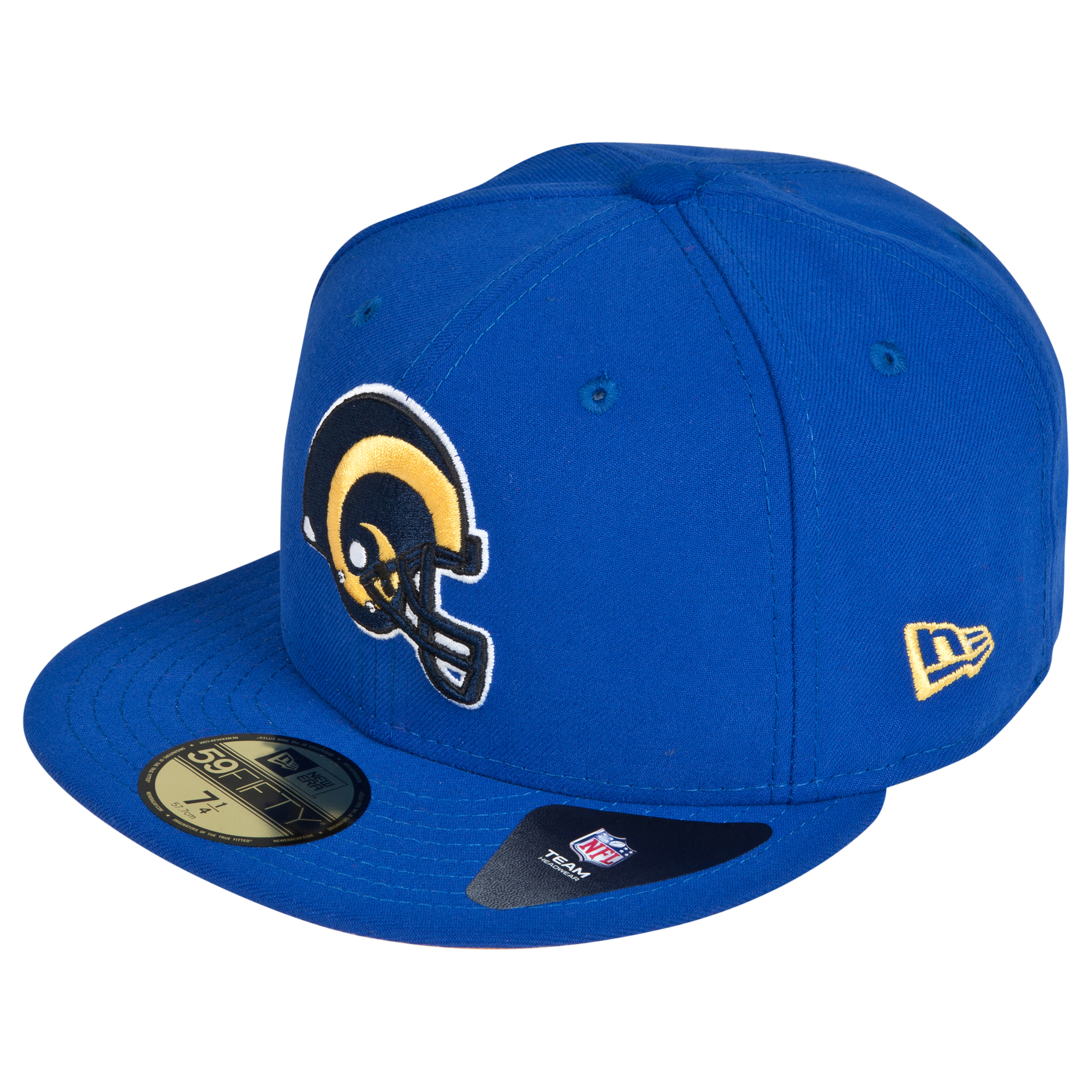 St Louis Rams New Era 59FIFTY SB Side Patch Super Bowl XXXIV Fitted Cap