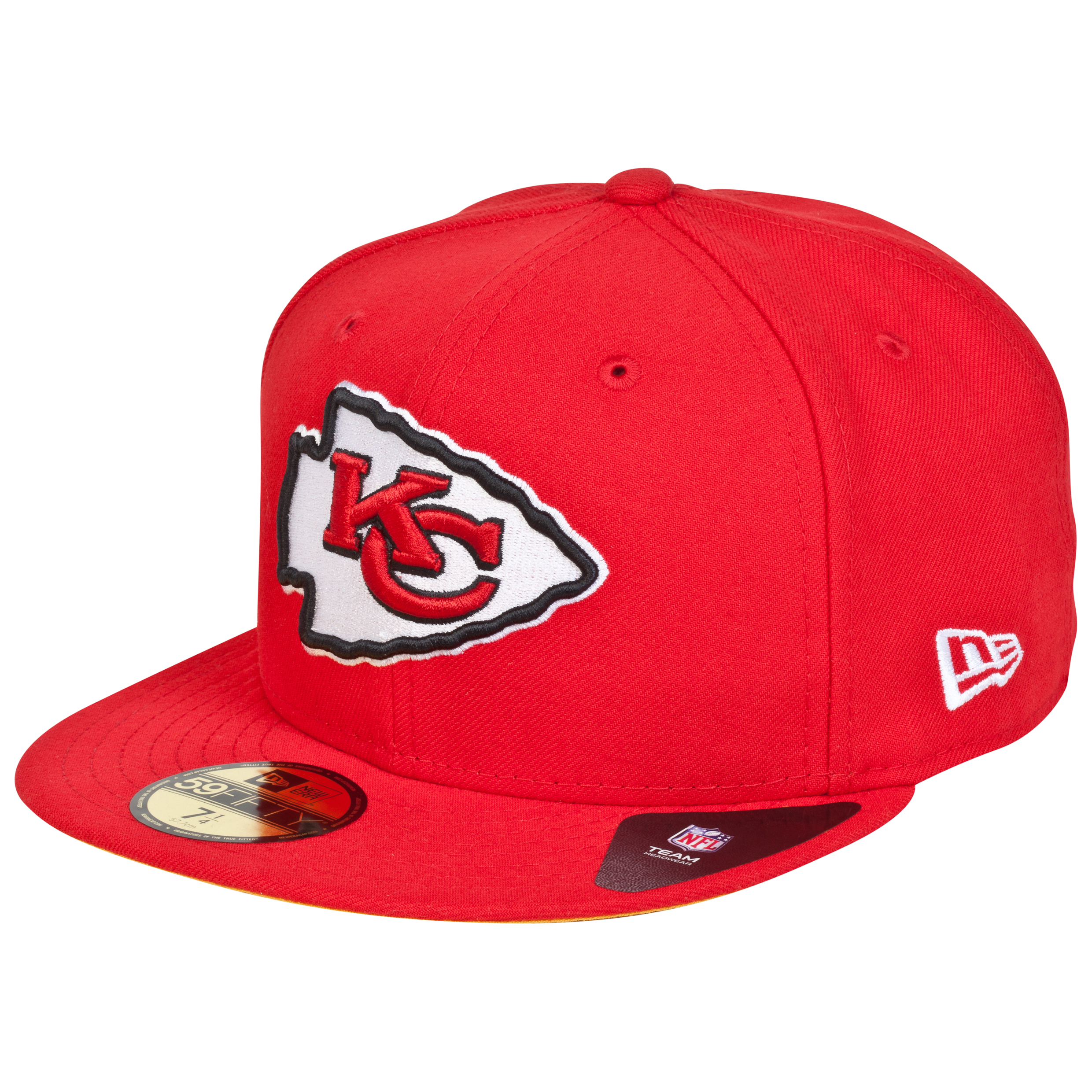 Kansas City Chiefs ew Era 59FIFTY SB Side Patch Super Bowl IV Fitted Cap