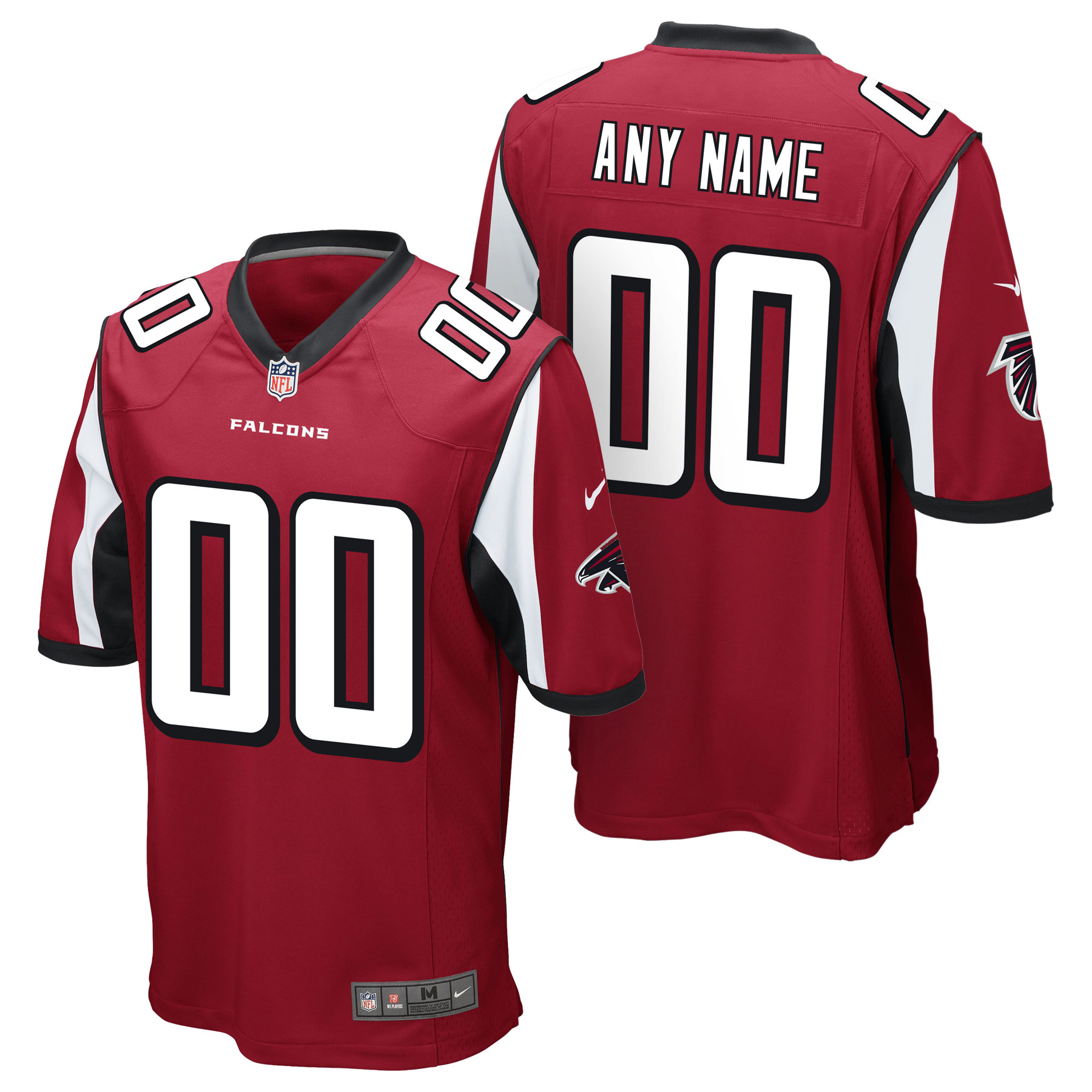 Atlanta Falcons Home Game Jersey - Custom
