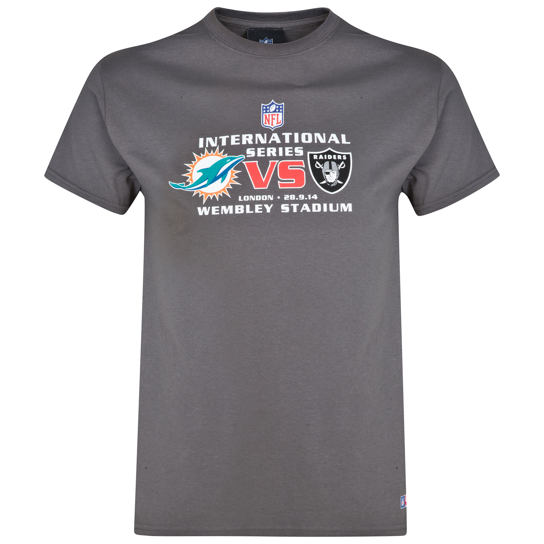 NFL International Series Dolphins VS Raiders 2014 Event T-Shirt