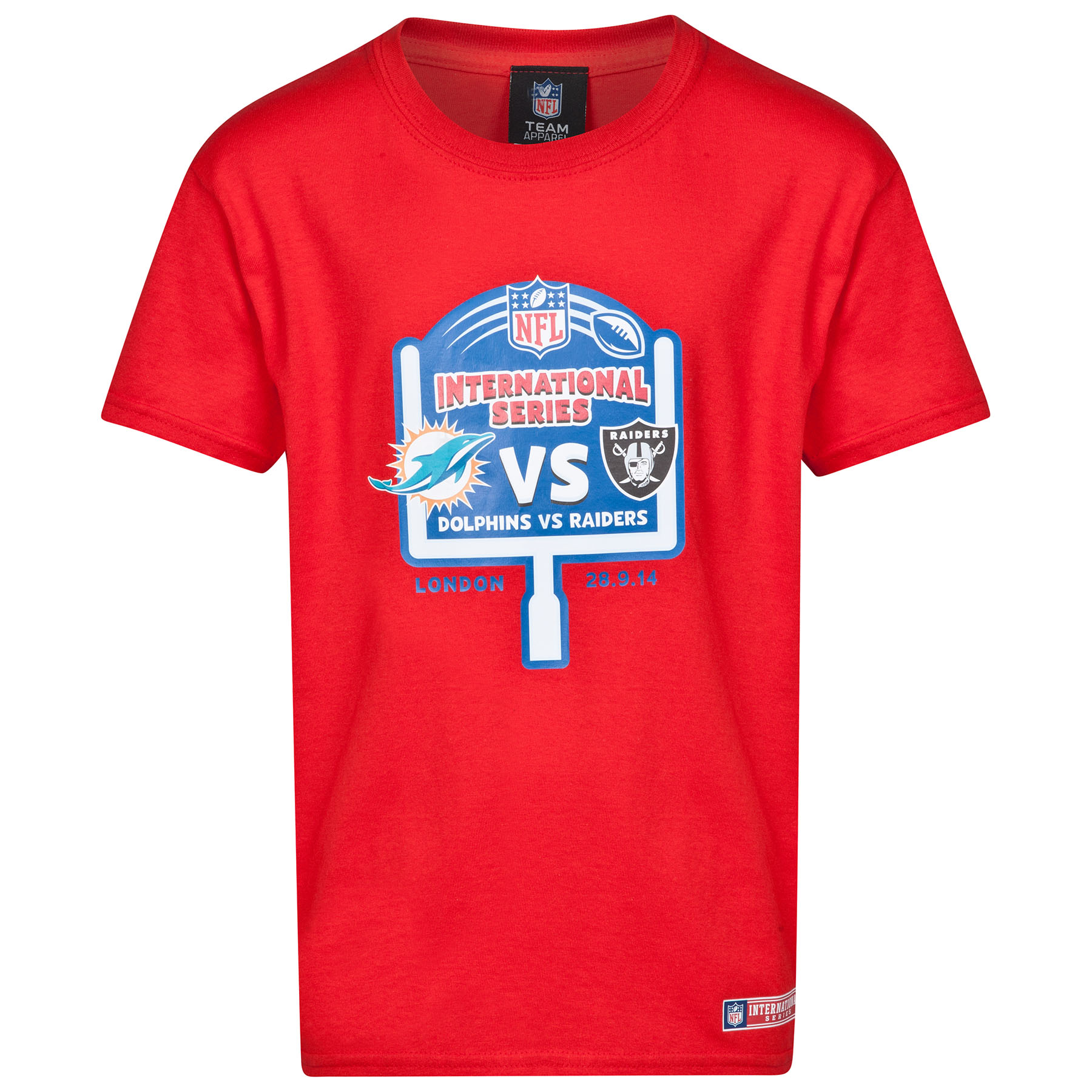 NFL International Series Dolphins VS Raiders 2014 Event T-Shirt - Kids
