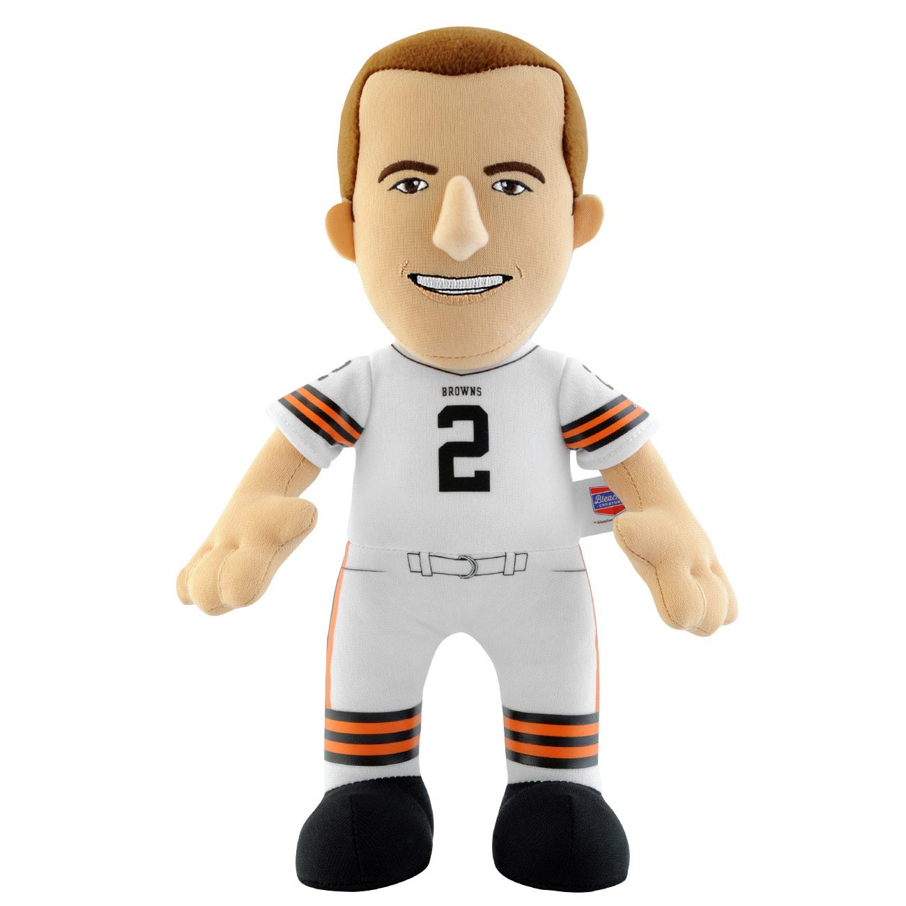 Cleveland Browns Bleacher Creature 10 inch Plush - Johnny Manziel