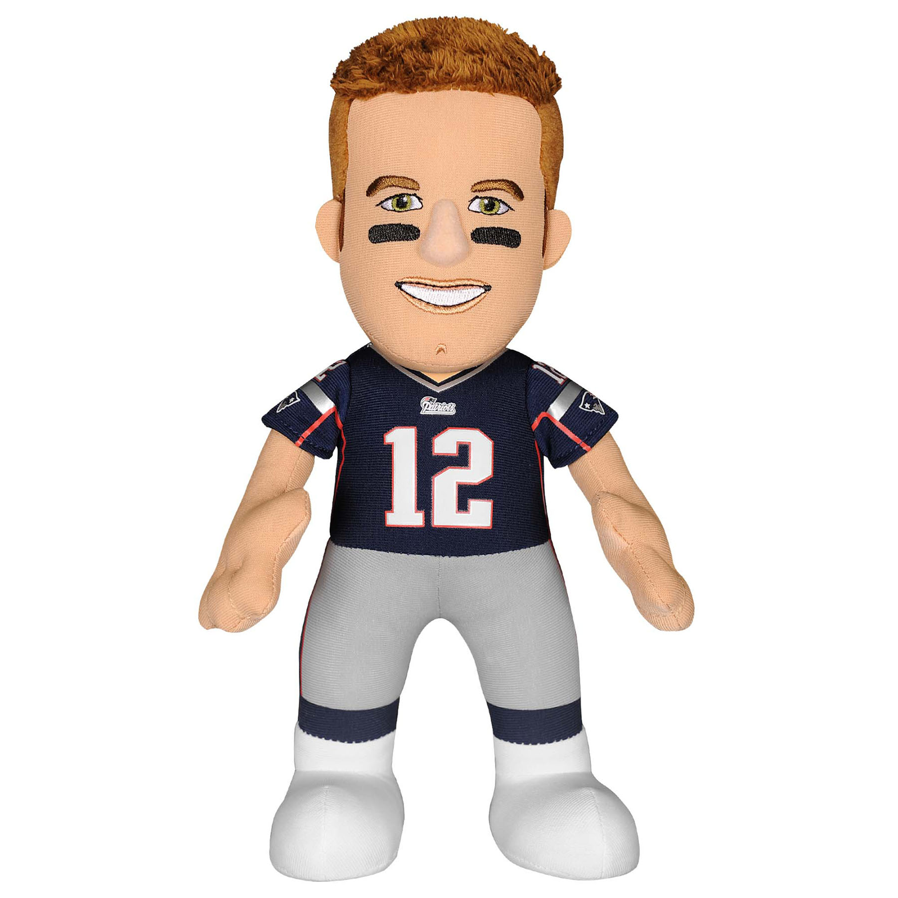 New England Patriots Bleacher Creature 10 inch Plush - Tom Brady