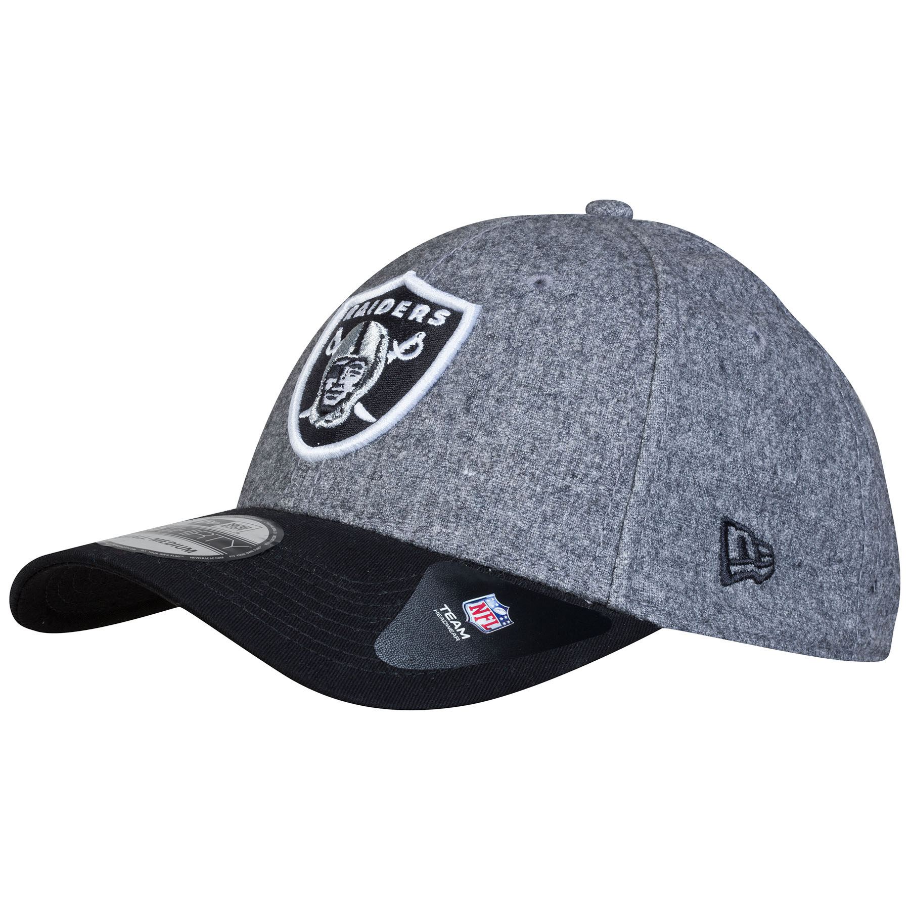 Oakland Raiders International Series 2014 New Era Meltop 39THIRTY Cap