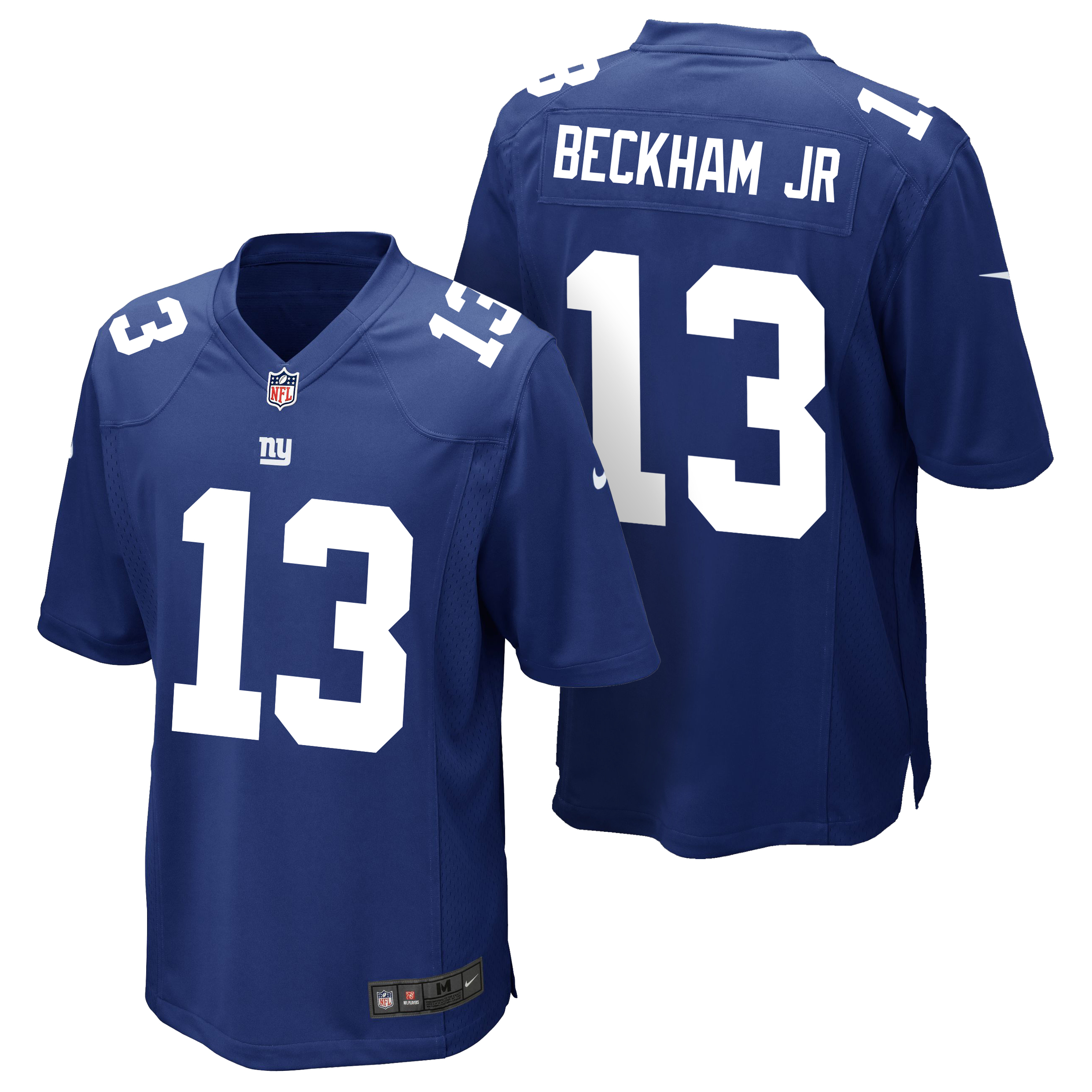 New York Giants Home Game Jersey - Odell Beckham Jr