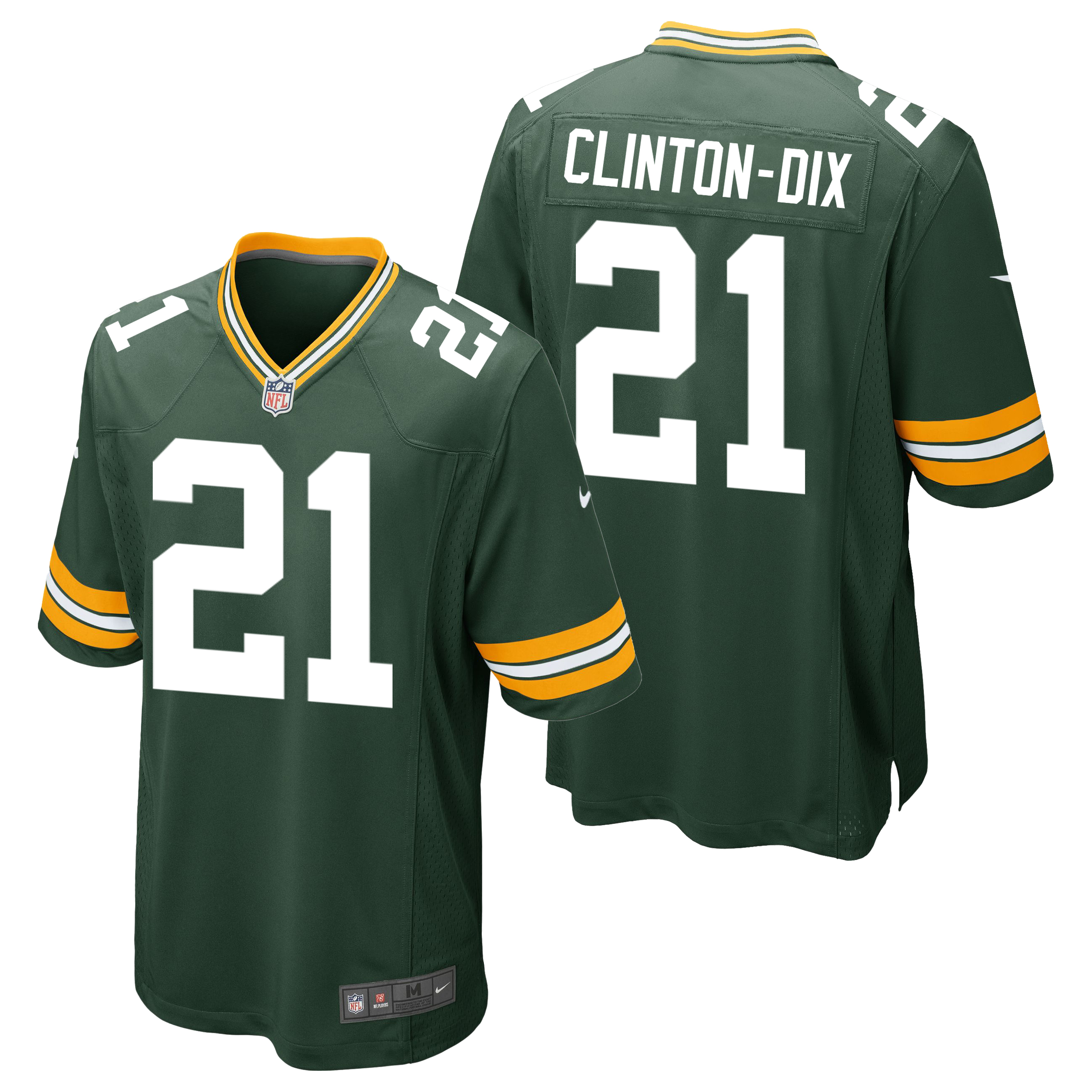 Green Bay Packers Home Game Jersey - Ha Ha Clinton-Dix
