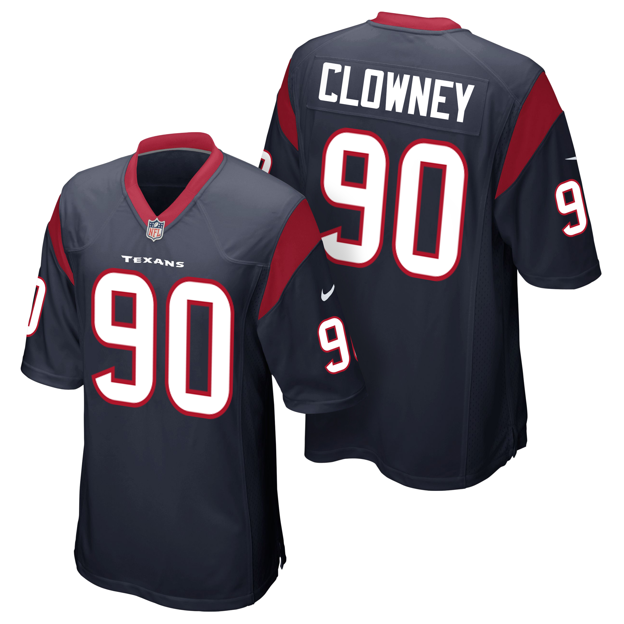 Houston Texans Home Game Jersey - Jadeveon Clowney