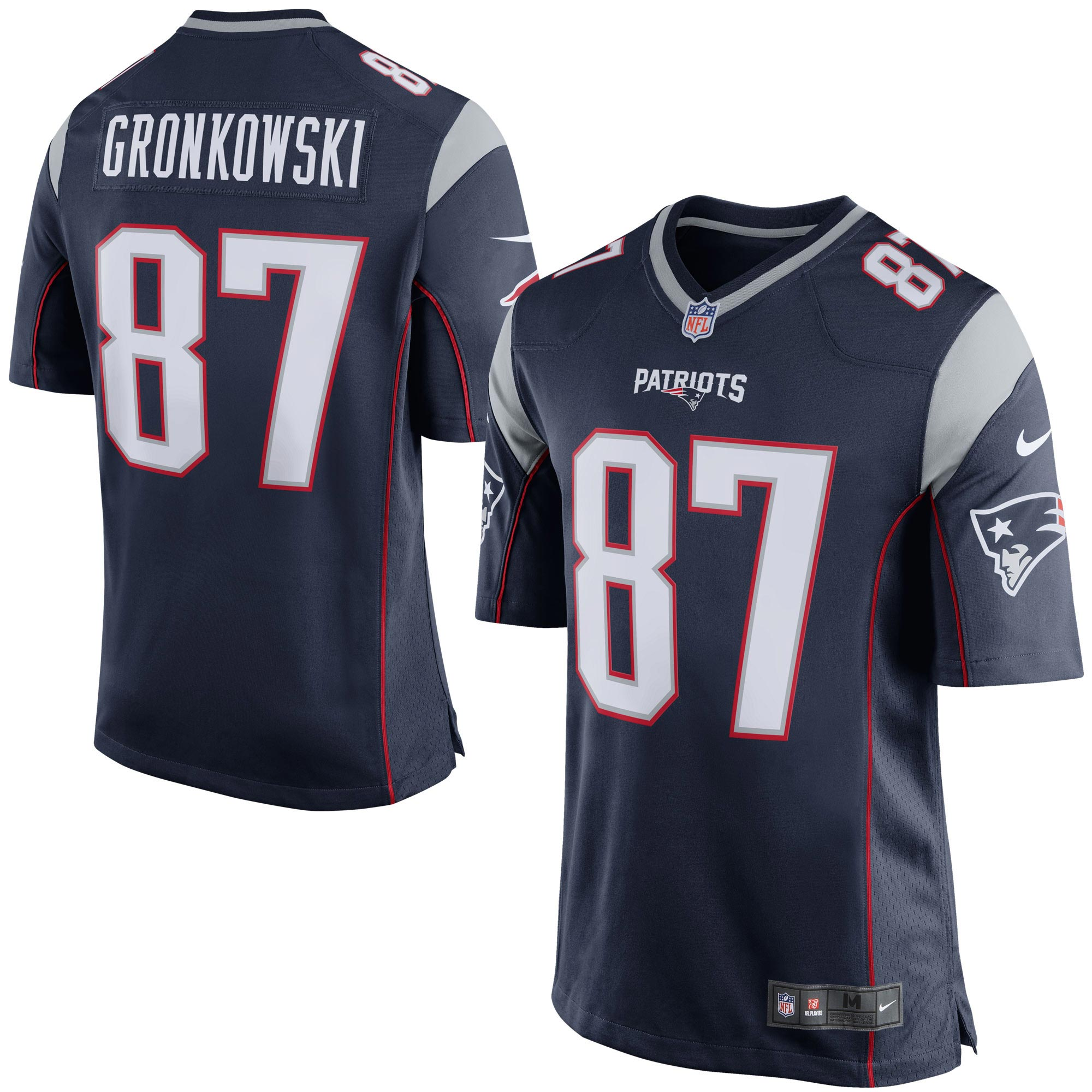 New England Patriots Home Game Jersey - Rob Gronkowski
