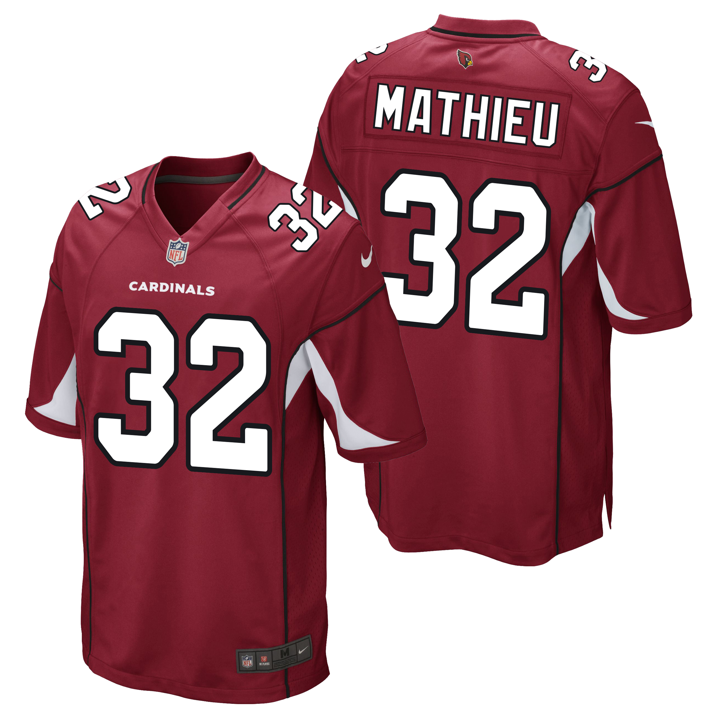 Arizona Cardinals Home Game Jersey - Tyrann Mathieu