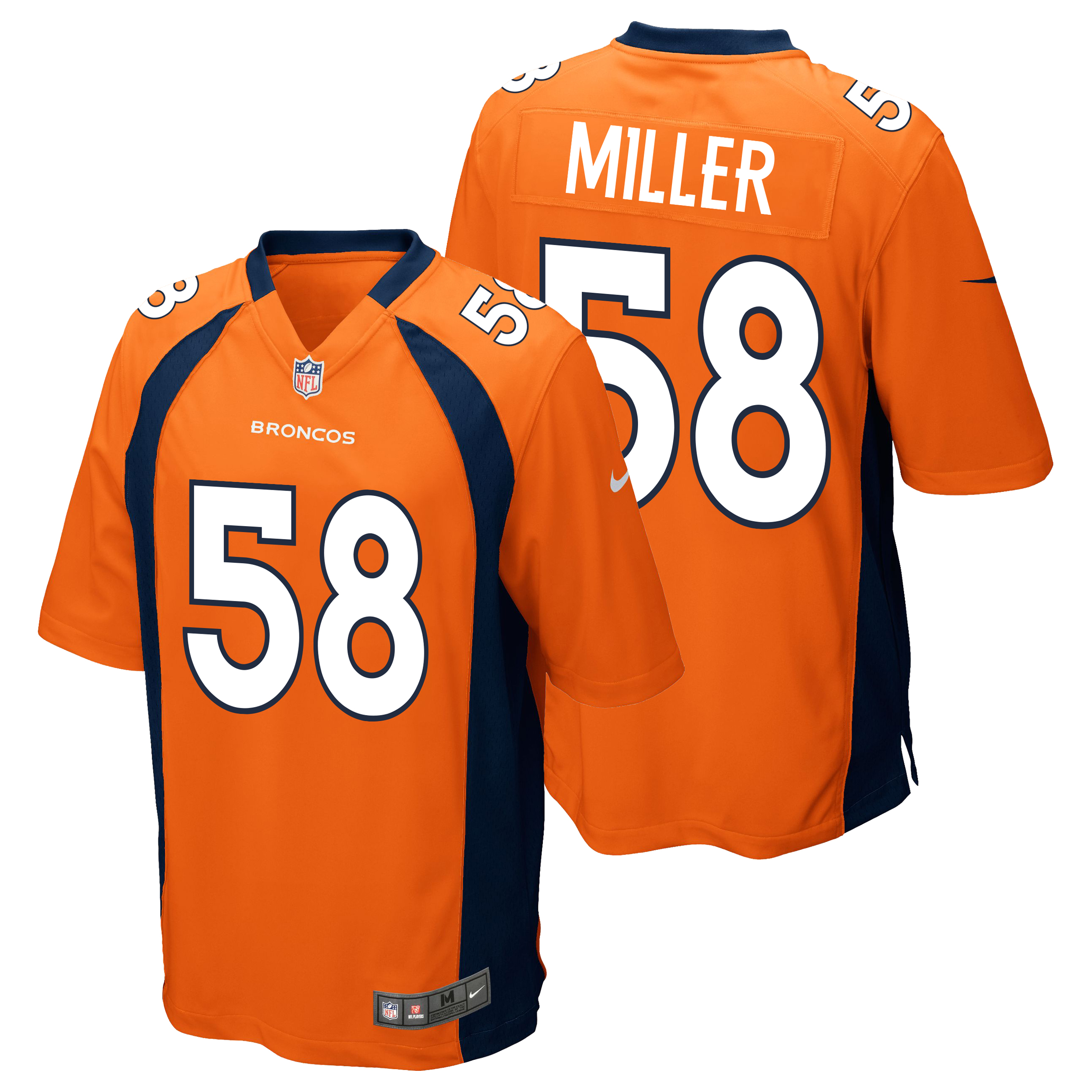 Denver Broncos Home Game Jersey - Von Miller