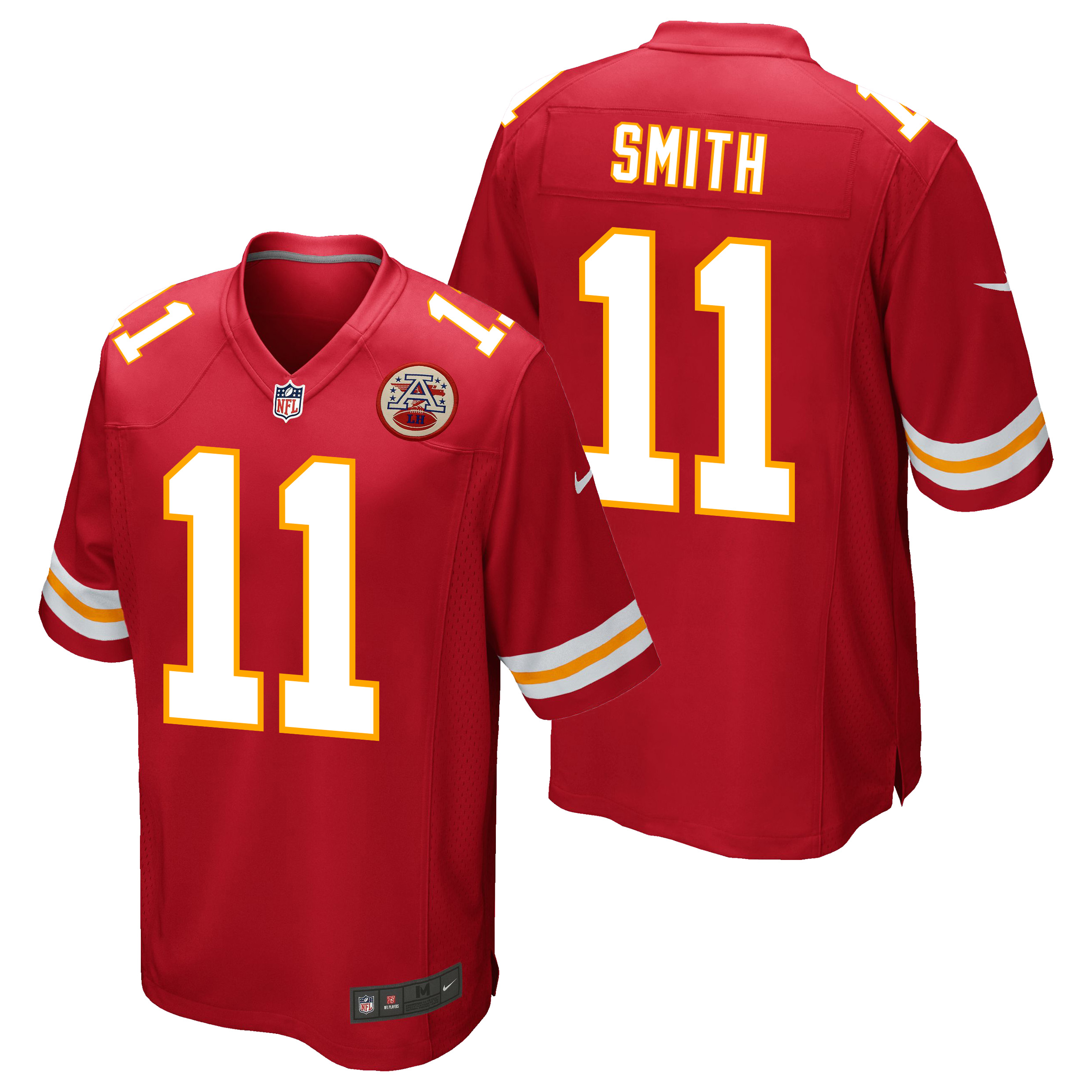Kansas City Chiefs Home Game Jersey - Alex Smith