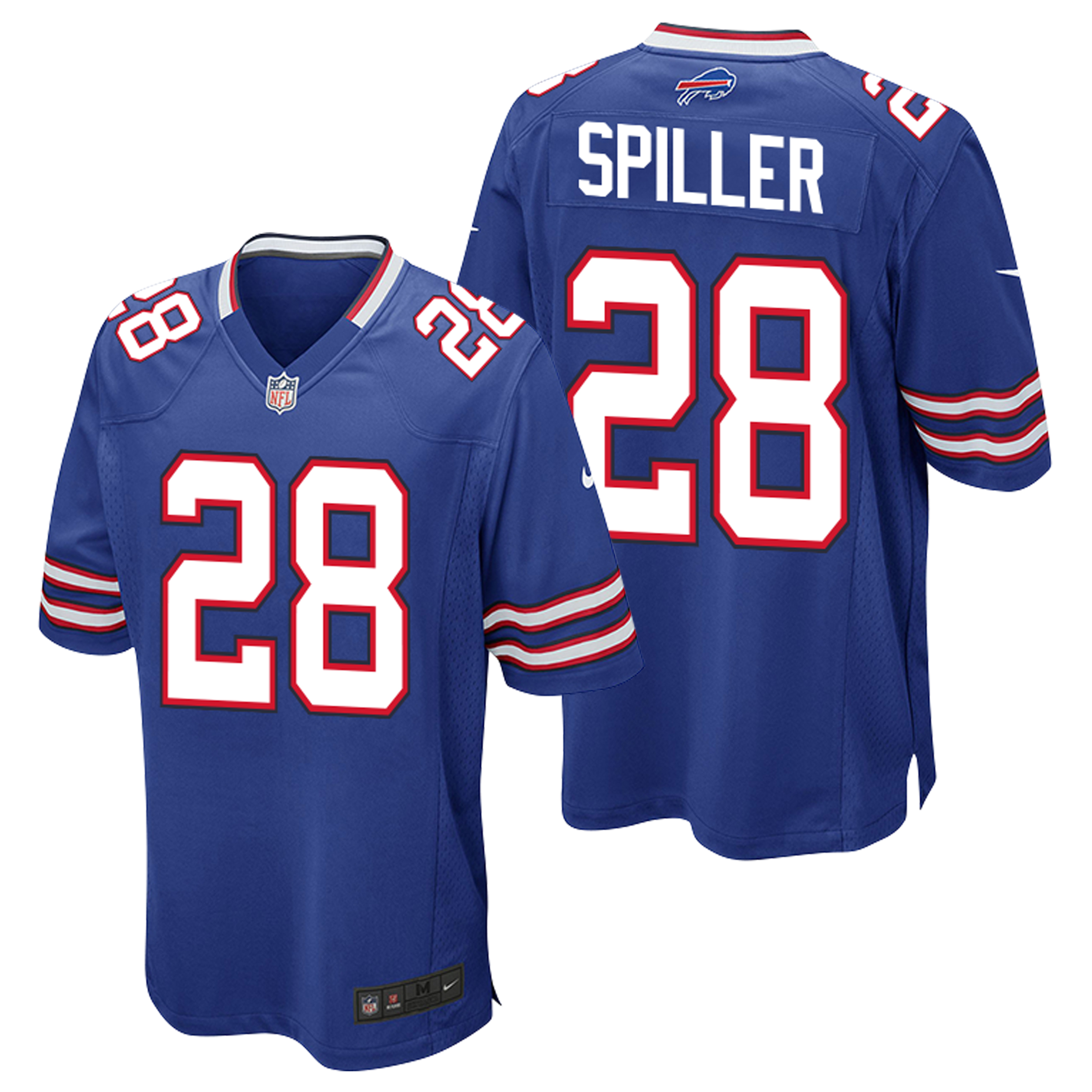 Buffalo Bills Home Game Jersey - CJ Spiller