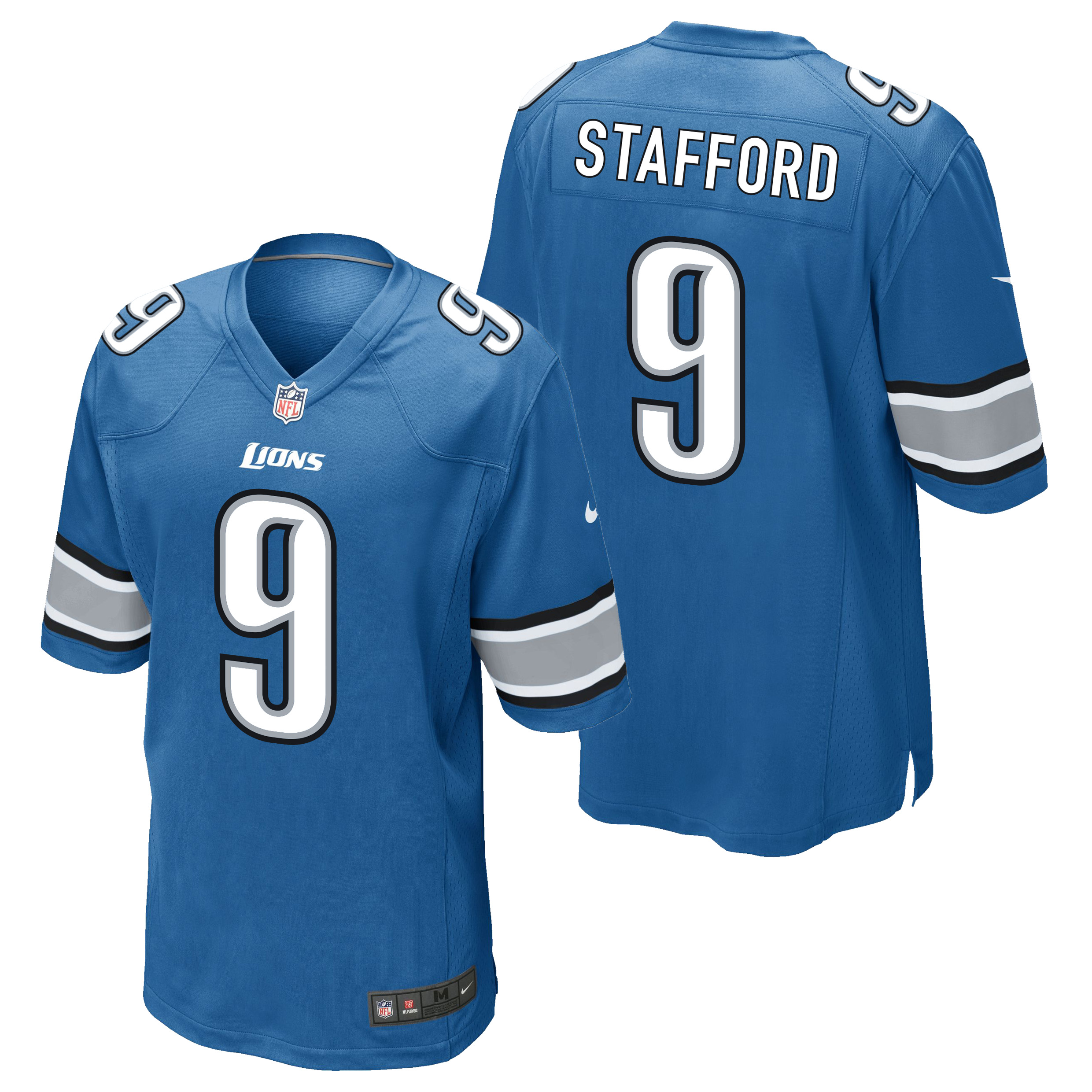 Detroit Lions Home Game Jersey - Matthew Stafford