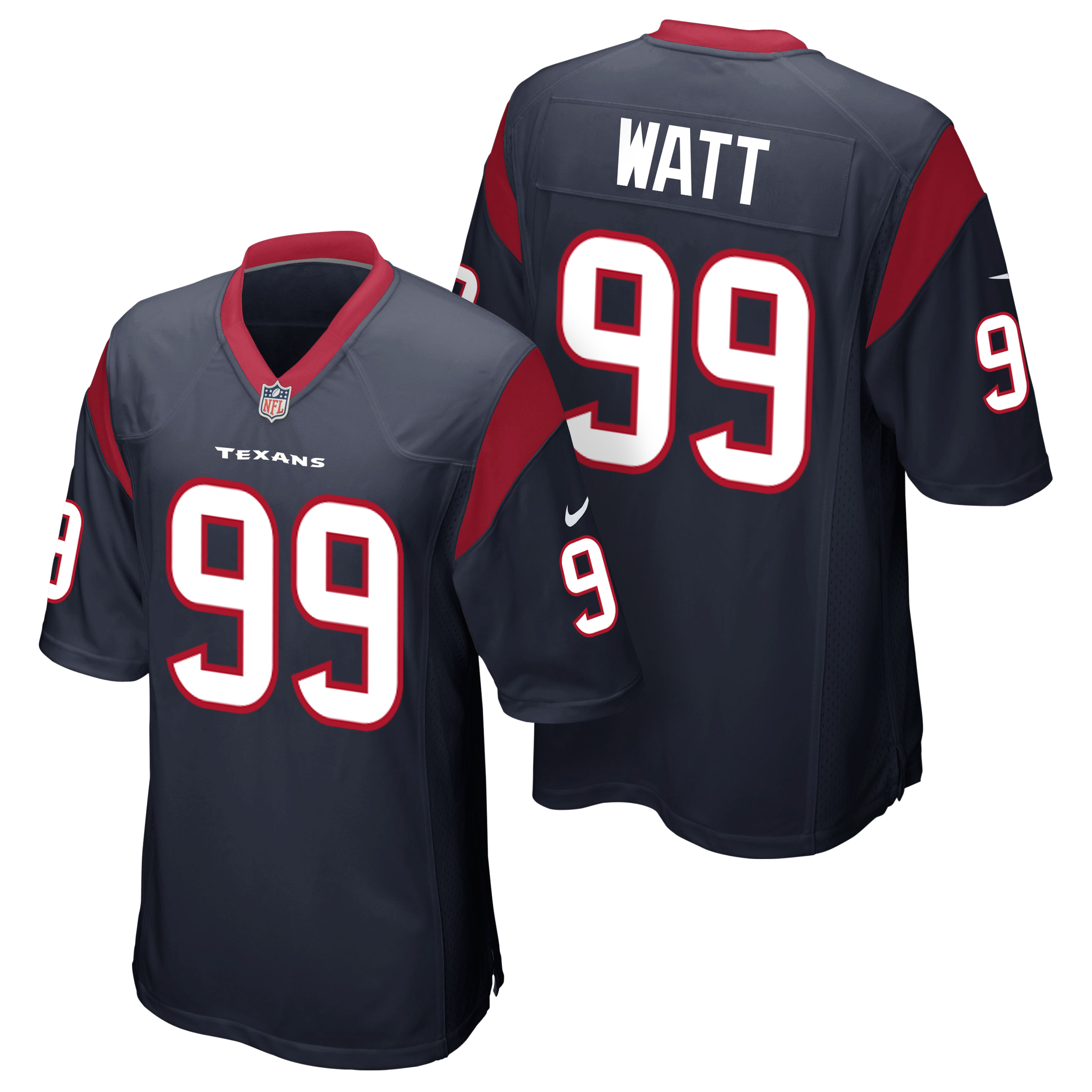 Houston Texans Home Game Jersey - JJ Watt