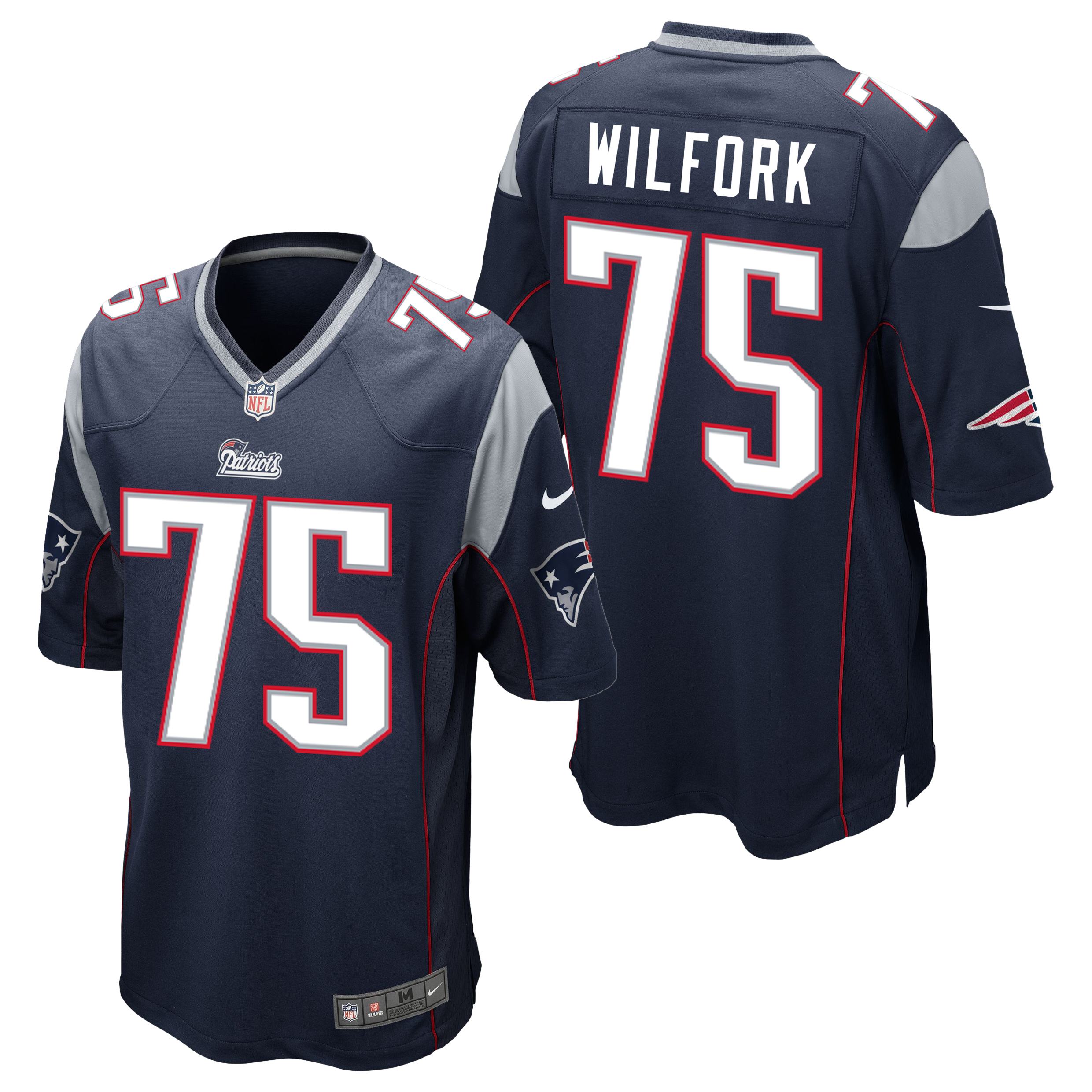 New England Patriots Home Game Jersey - Vince Wilfork