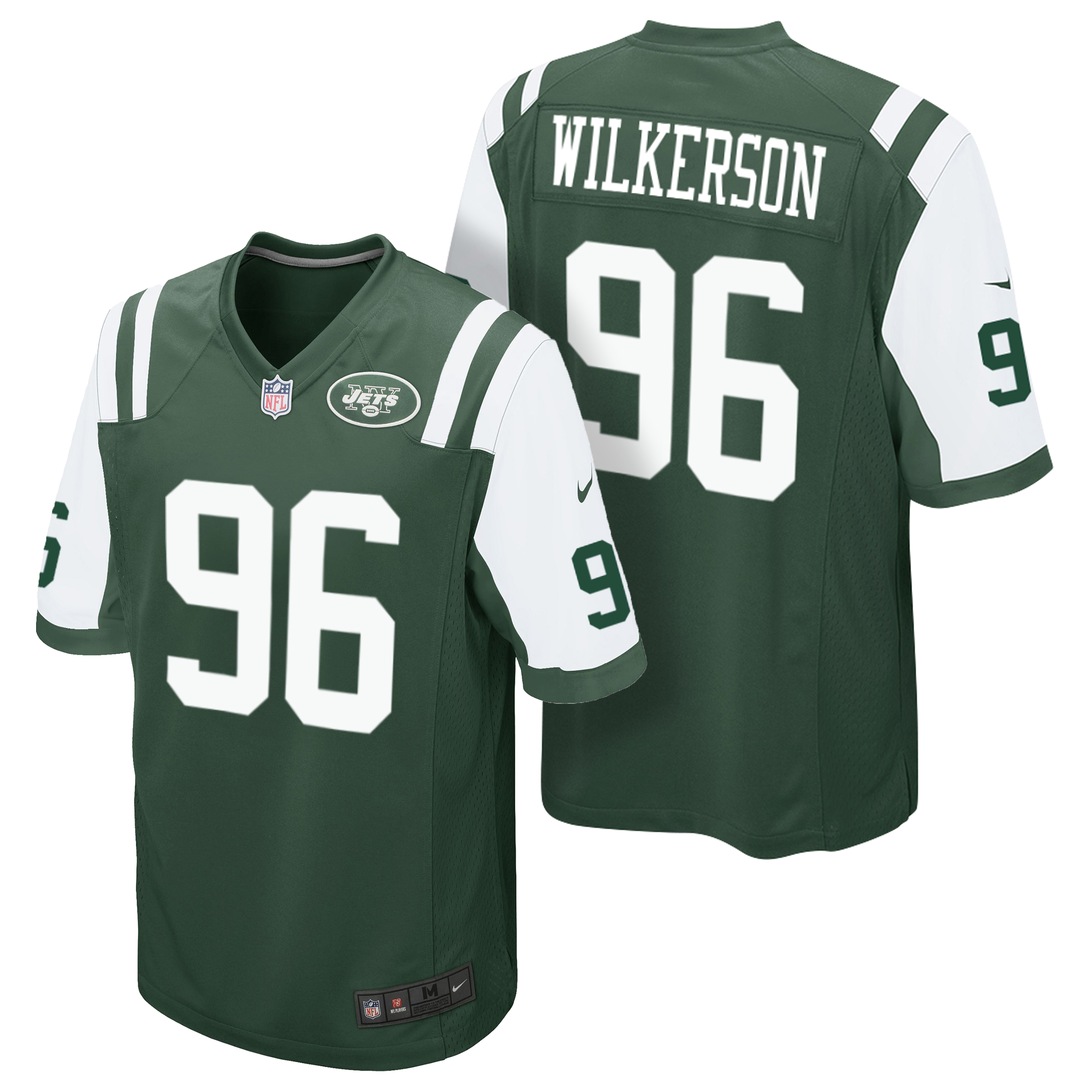 New York Jets Home Game Jersey - Muhammad Wilkerson