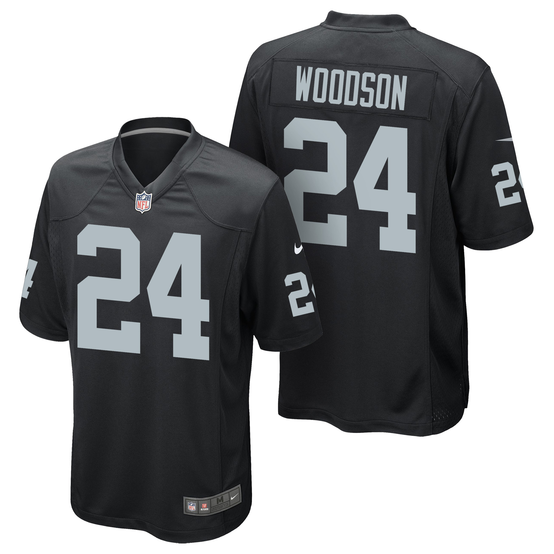 Oakland Raiders Home Game Jersey - Charles Woodson