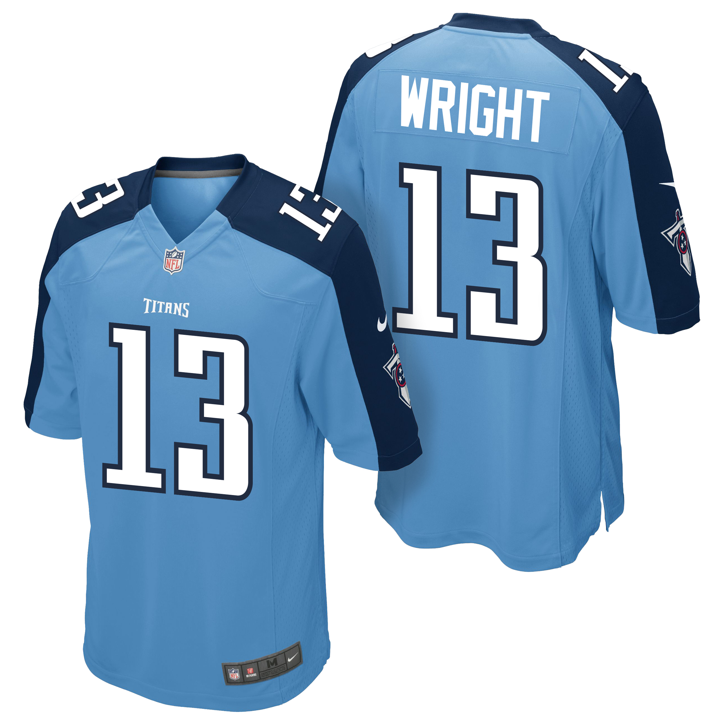 Tennessee Titans Home Game Jersey - Kendall Wright