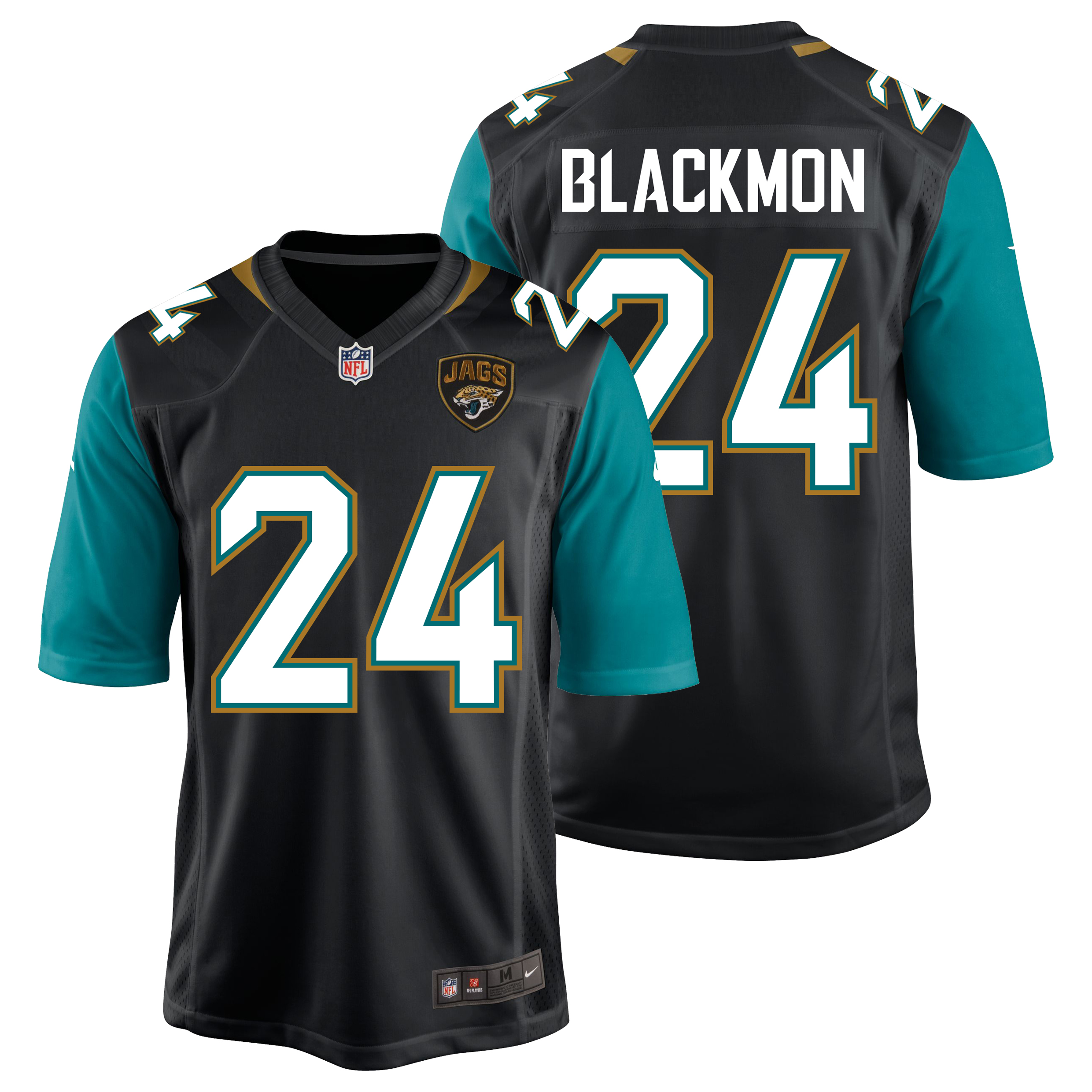 Jacksonville Jaguars Home Game Jersey - Will Blackmon