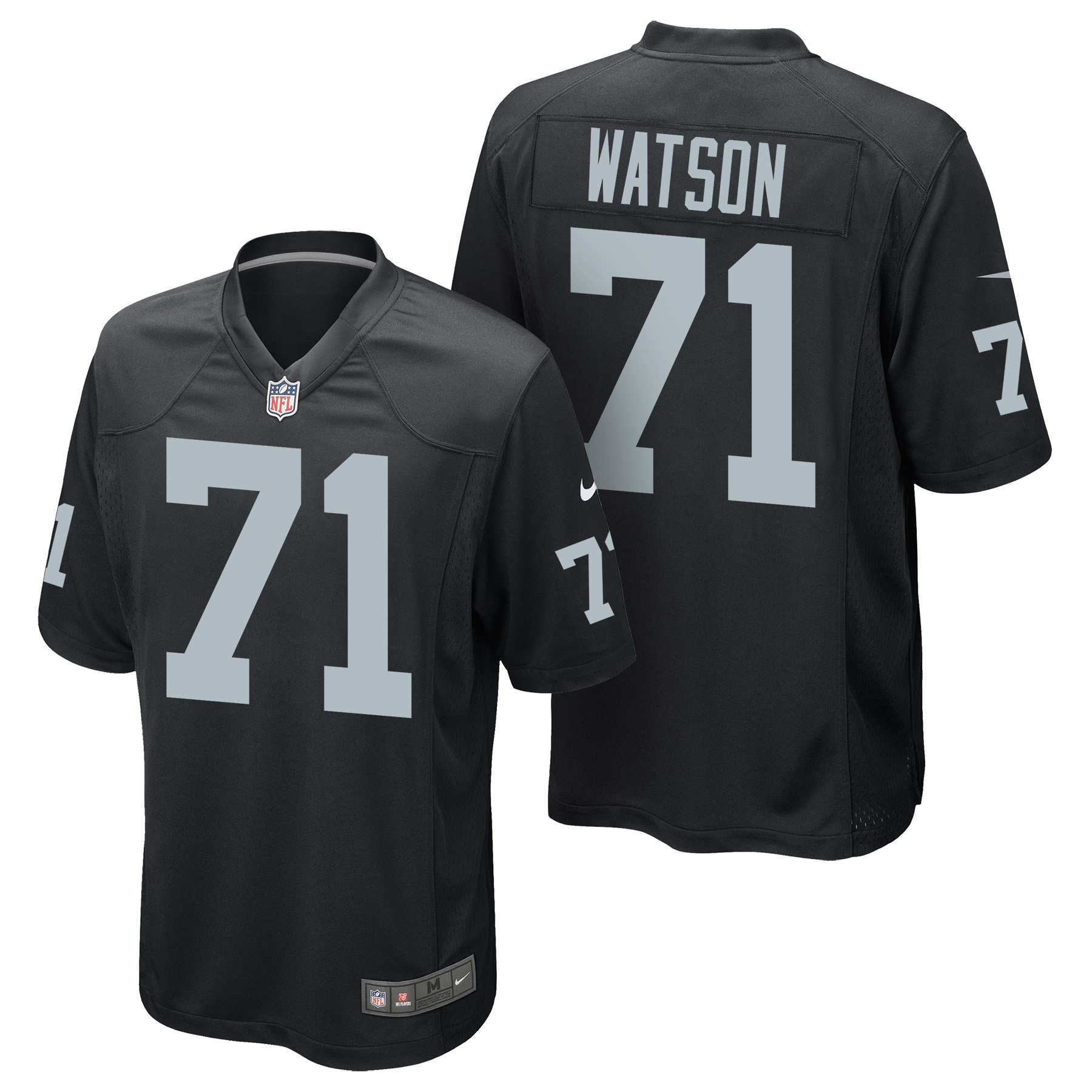 Oakland Raiders Home Game Jersey - Menelik Watson