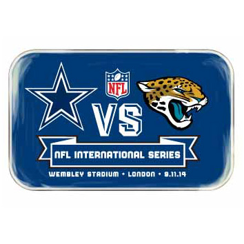 NFL Cowboys Vs Jaguars International Series Game 11 Badge