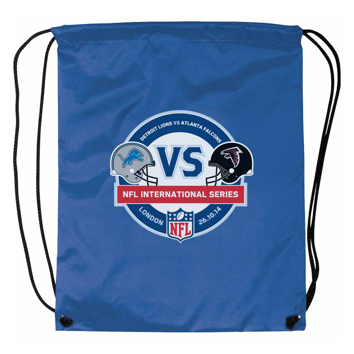 NFL Lions Vs Falcons International Series Game 10 Gymbag