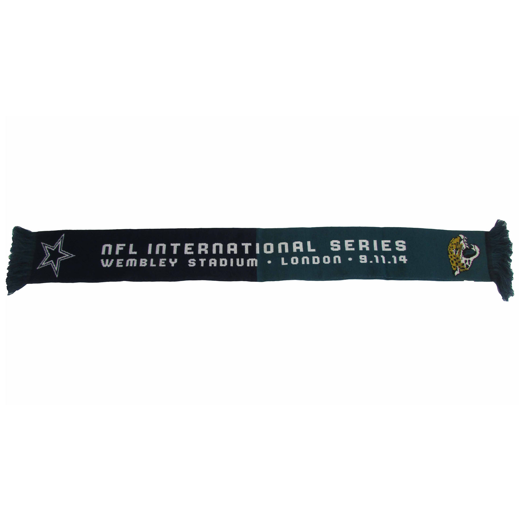 NFL Cowboys Vs Jaguars International Series Game 11 Scarf