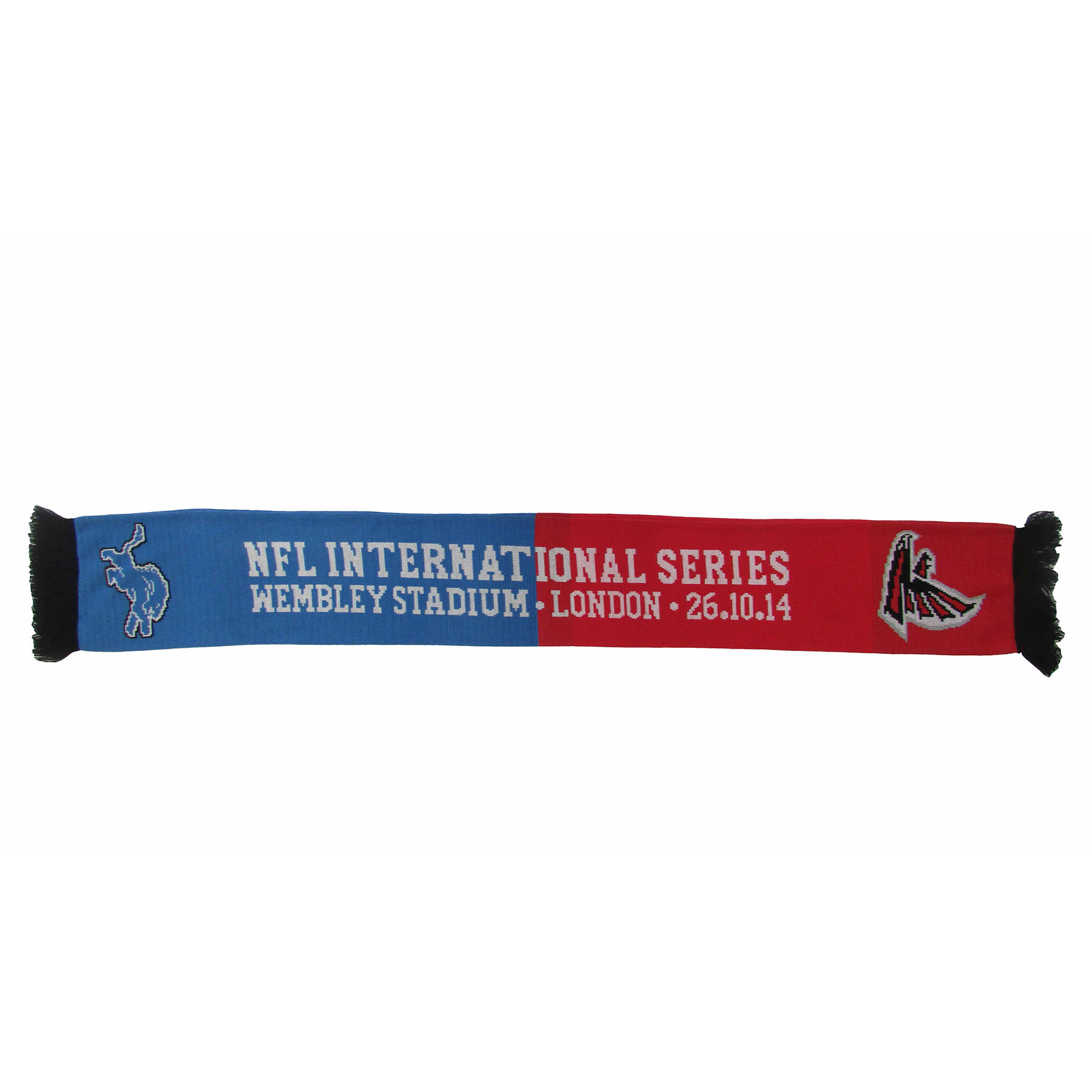 NFL Lions Vs Falcons International Series Game 10 Scarf