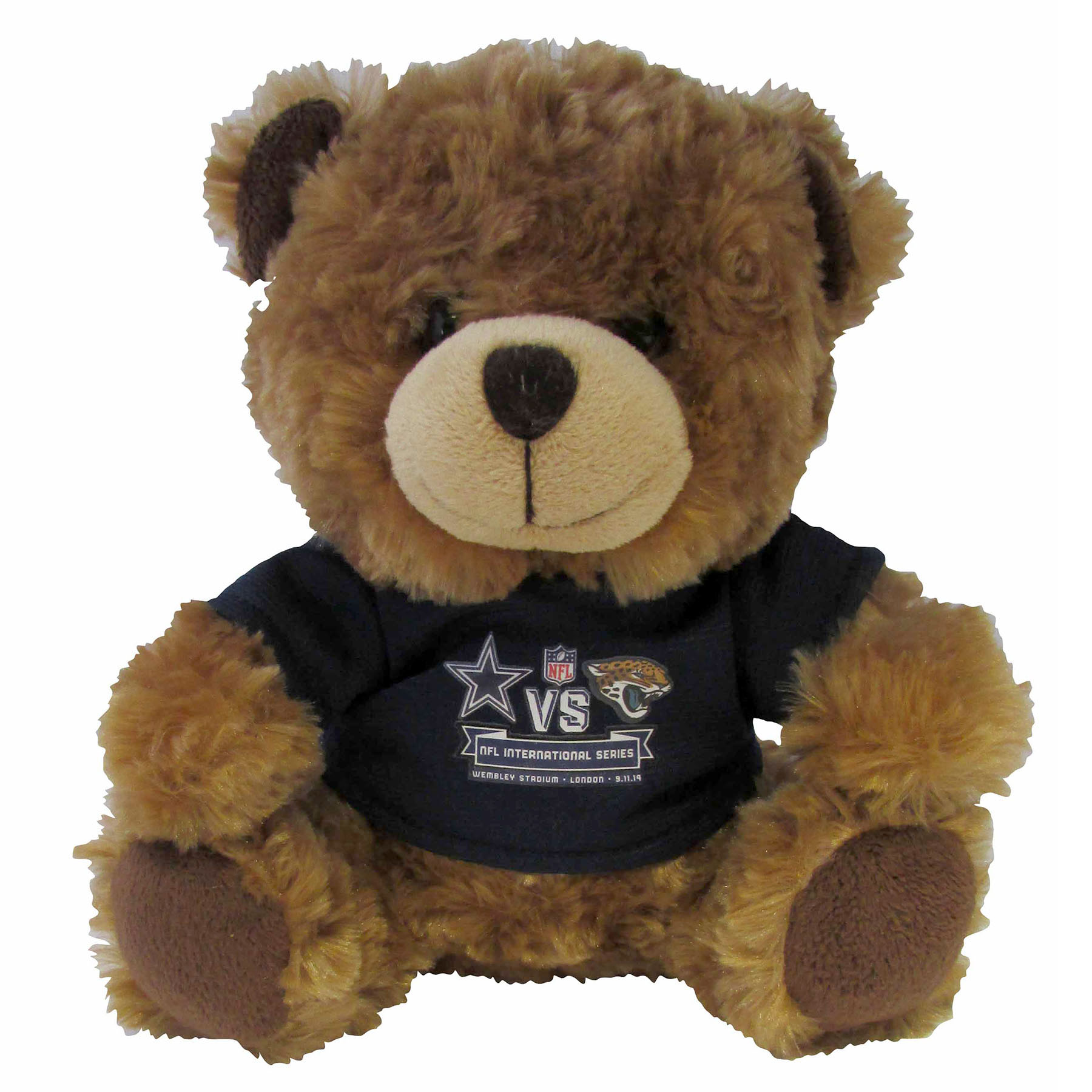 NFL Cowboys Vs Jaguars International Series Game 11 T-Shirt Bear