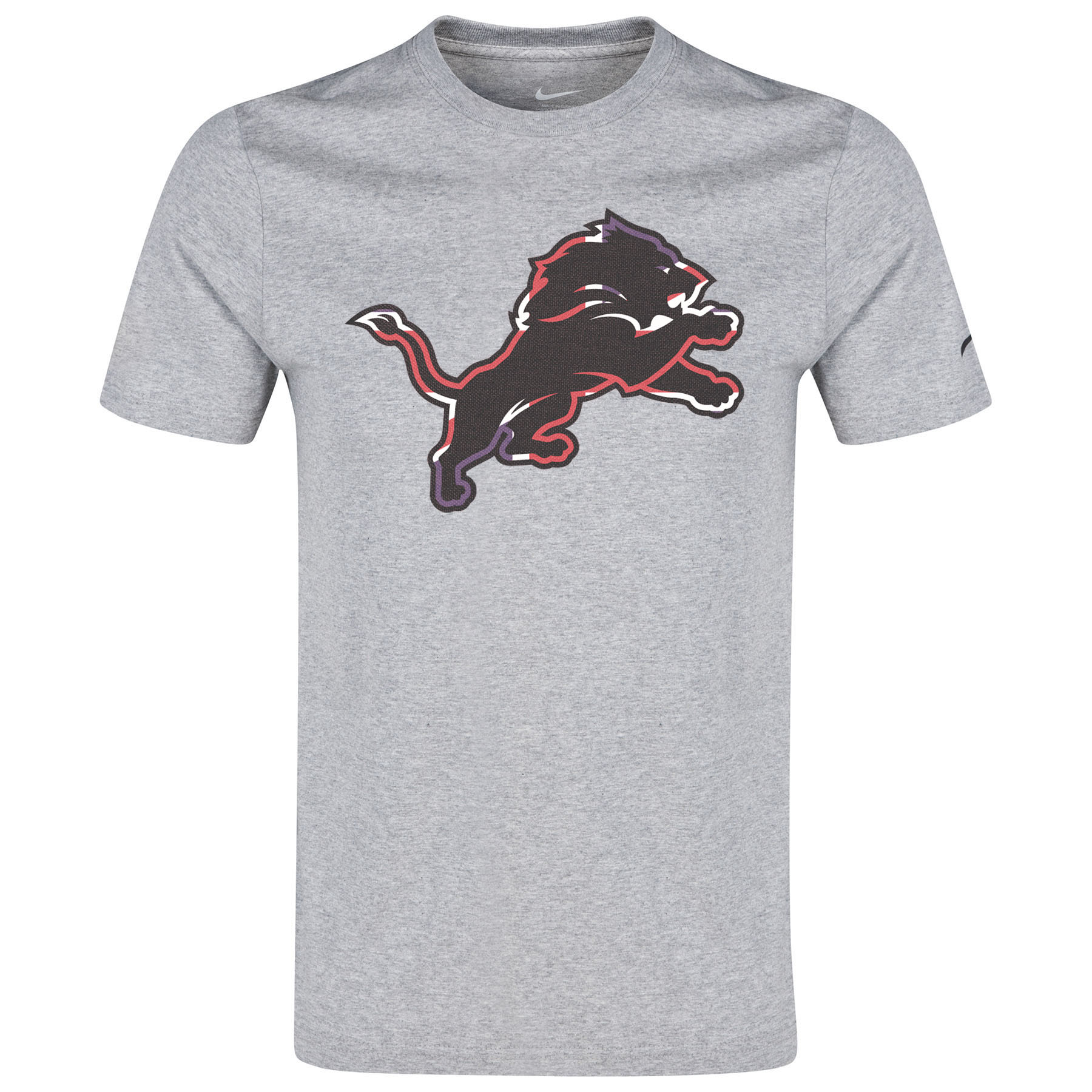 Detroit Lions Nike ISG Union Jack T-Shirt Grey