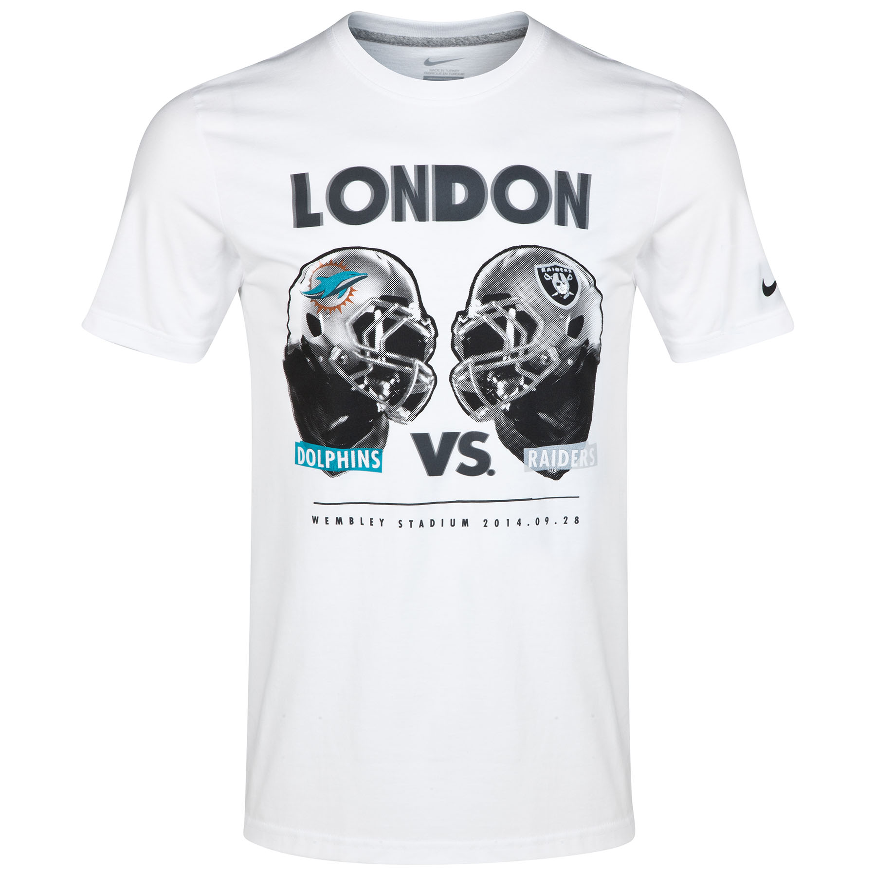 NFL Nike ISG Miami vs Raiders T-Shirt White