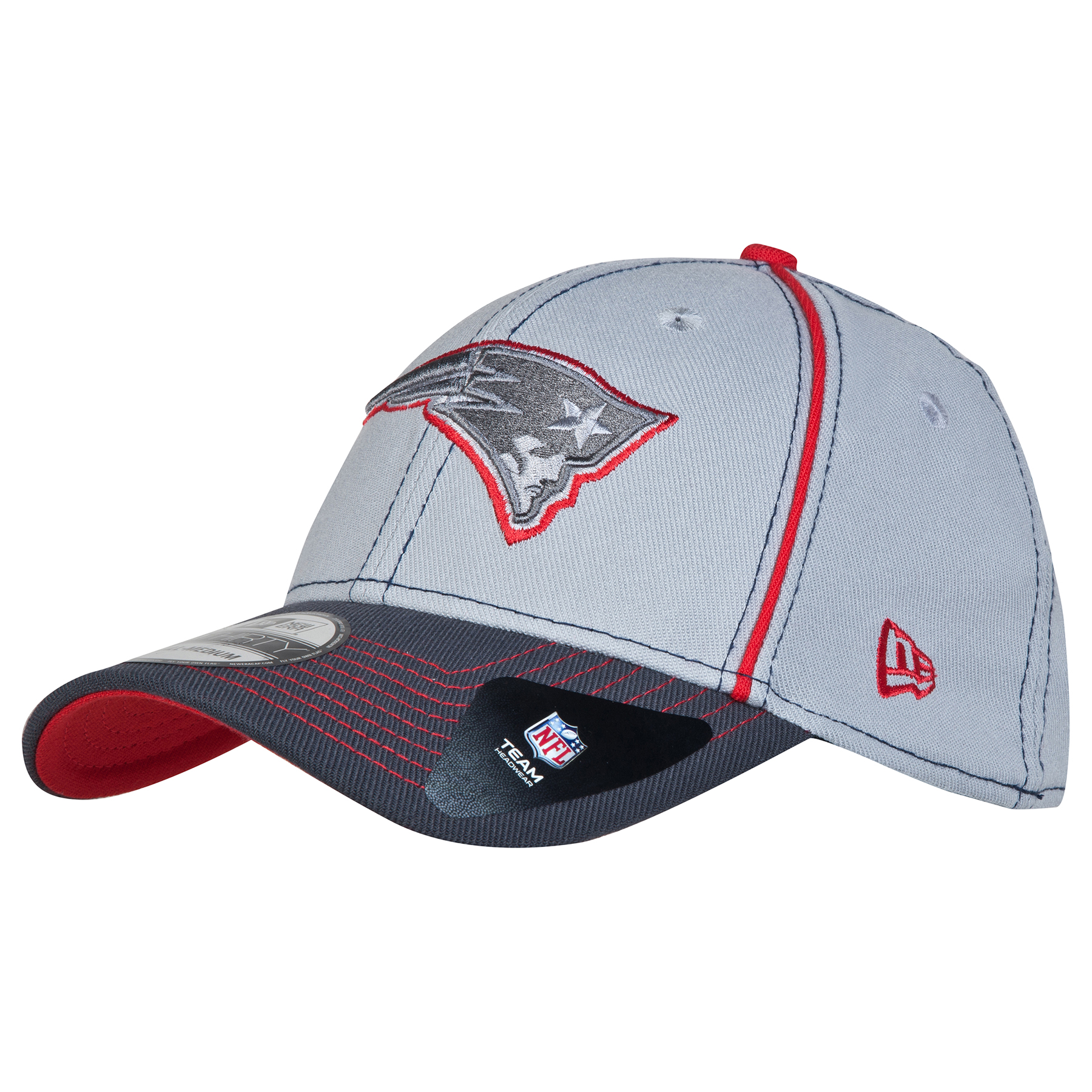 New England Patriots Grafpipe Classic 39THIRTY Stretch Fit Cap