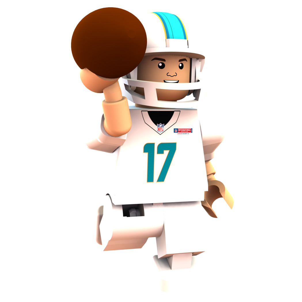 Miami Dolphins International Series - Ryan Tannehill Minifigure