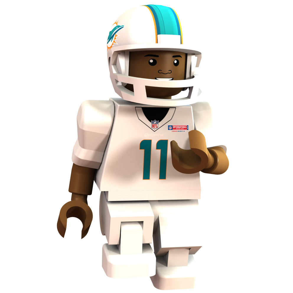 Miami Dolphins International Series - Mike Wallace Minifigure
