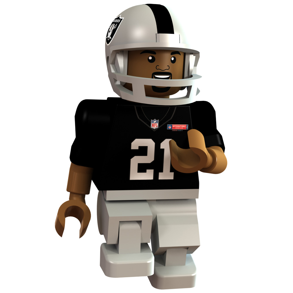 Oakland Raiders International Series - Maurice Jones Drew Minifigure