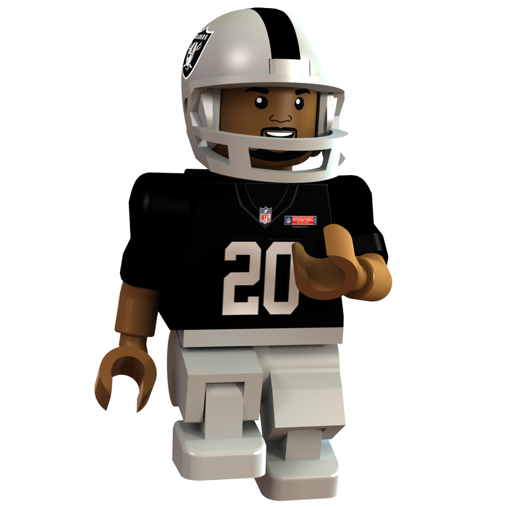 Oakland Raiders International Series - Darren McFadden Minifigure