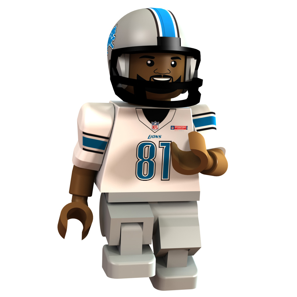 Detroit Lions International Series - Calvin Johnson Minifigure