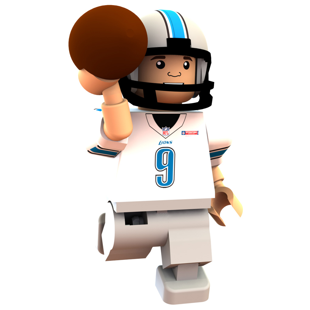 Detroit Lions International Series - Matthew Stafford Minifigure