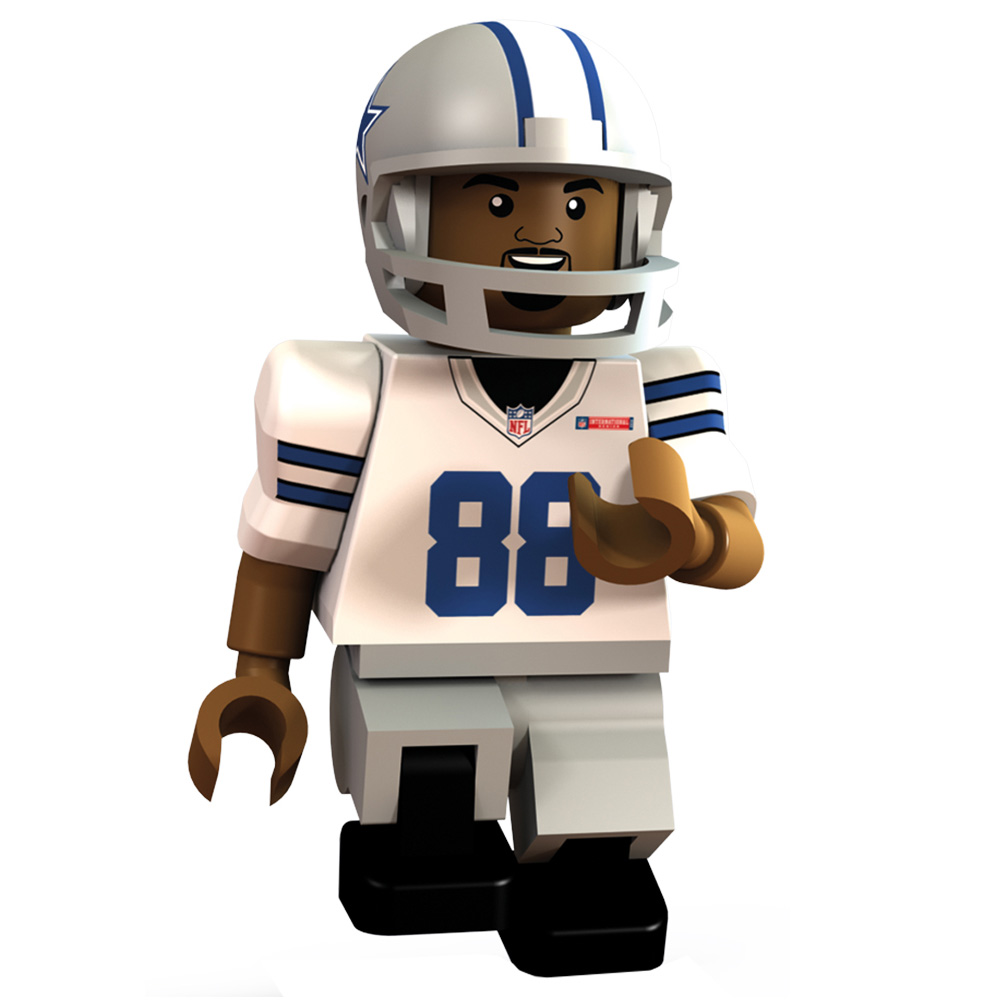 Dallas Cowboys International Series - Dez Bryant Minifigure