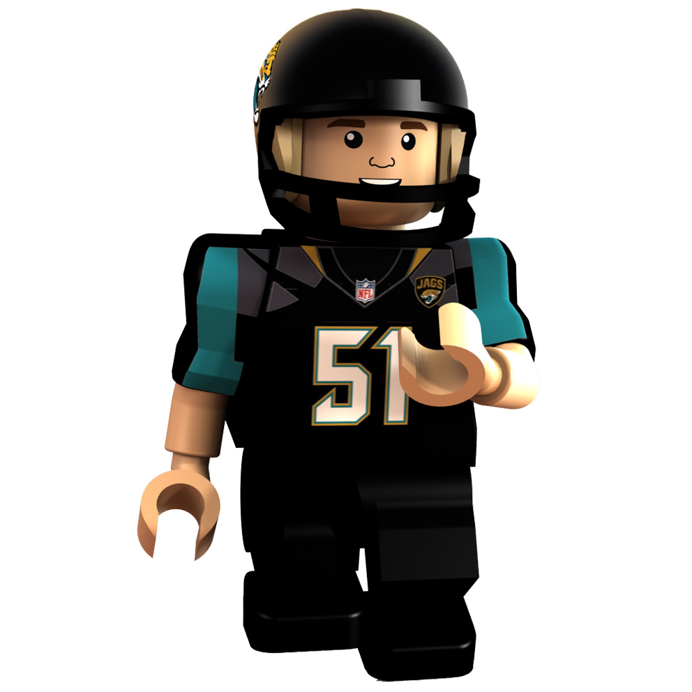 Jacksonville Jaguars International Series - Paul Posluszny Minifigure