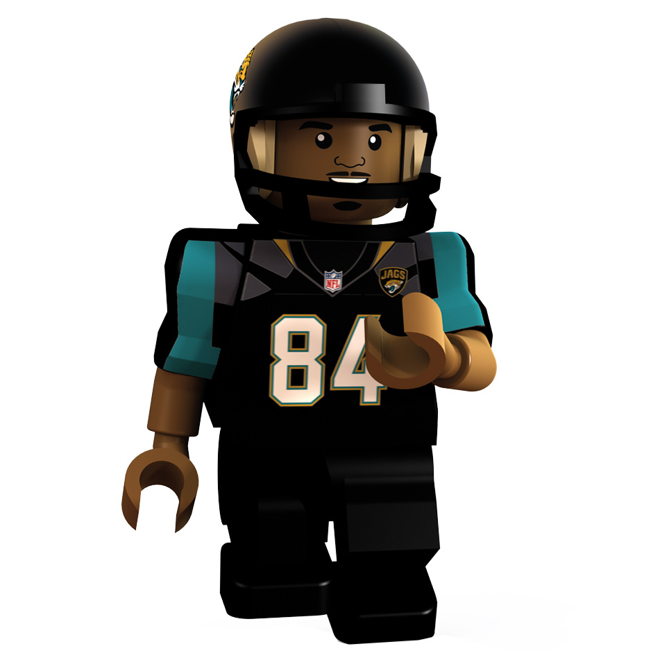 Jacksonville Jaguars International Series - Cecil Shorts Minifigure