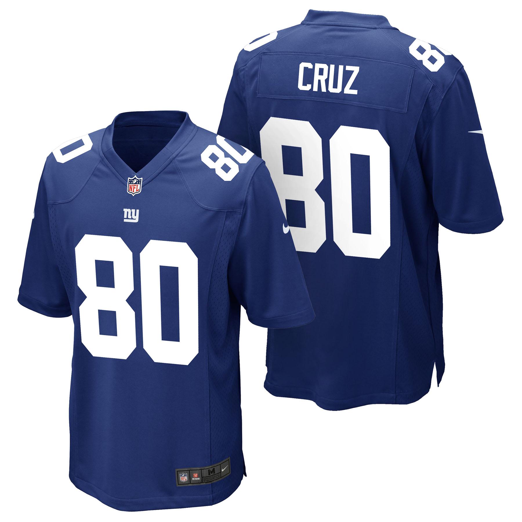 New York Giants Home Game Jersey - Victor Cruz