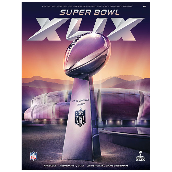 NFL Official Super Bowl XLIX Game Programme
