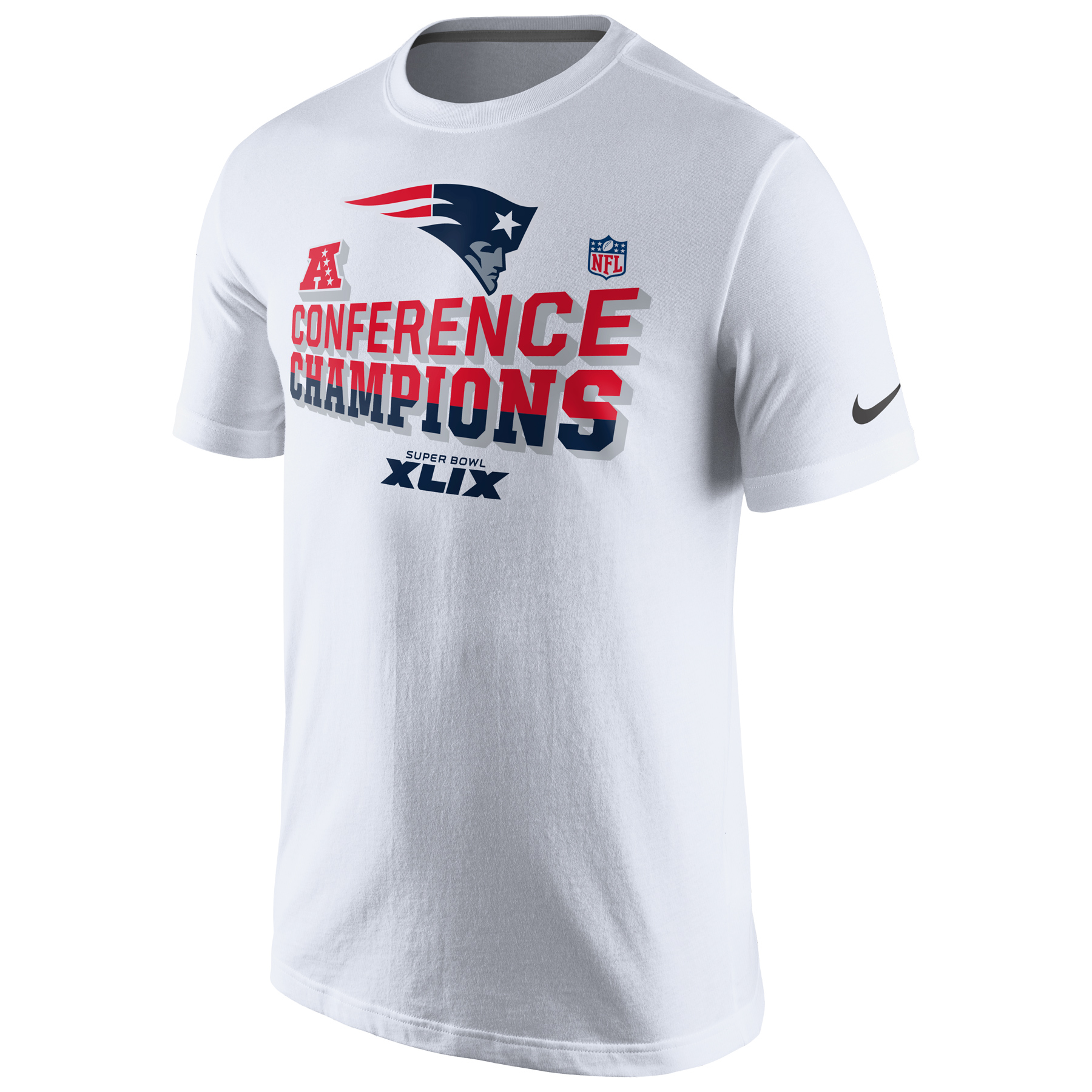 New England Patriots Nike AFC Conference Champions T-Shirt White