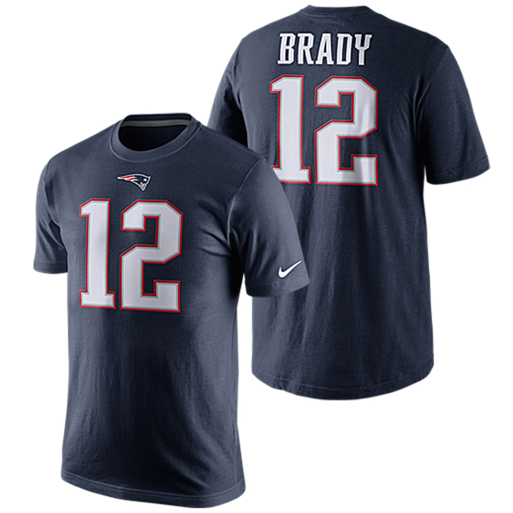New England Patriots Nike Player Home T-Shirt - Tom Brady Navy