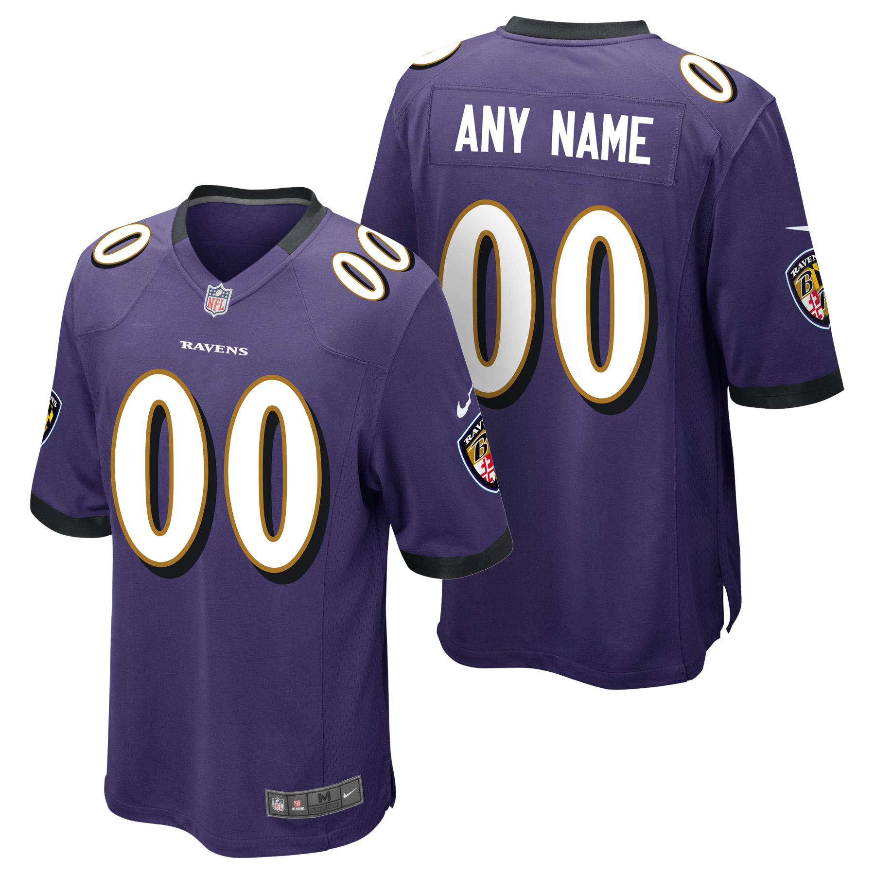 Baltimore Ravens Heimspieltrikot - maßgeschneidert - Jugendliche