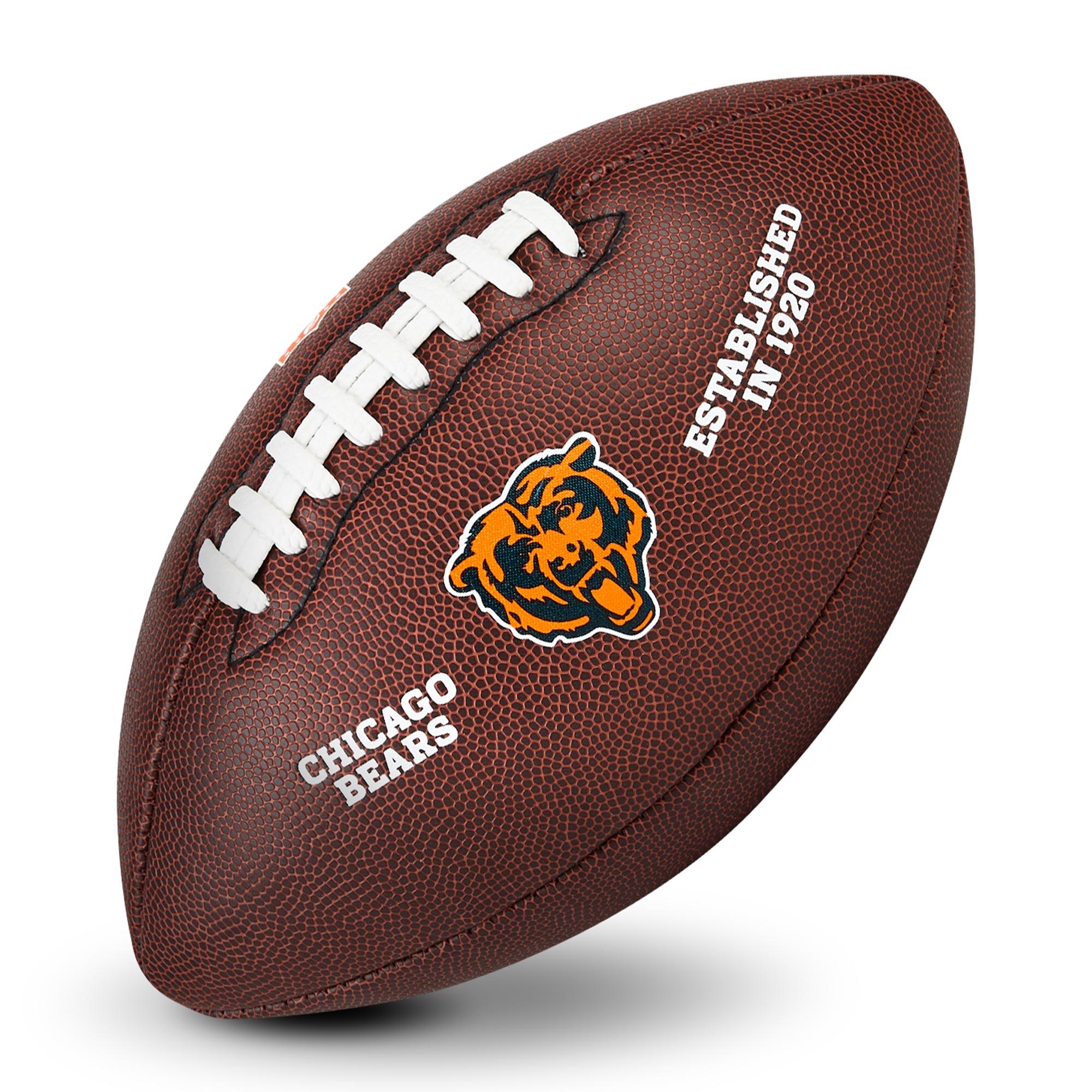Chicago Bears Football mit Logo